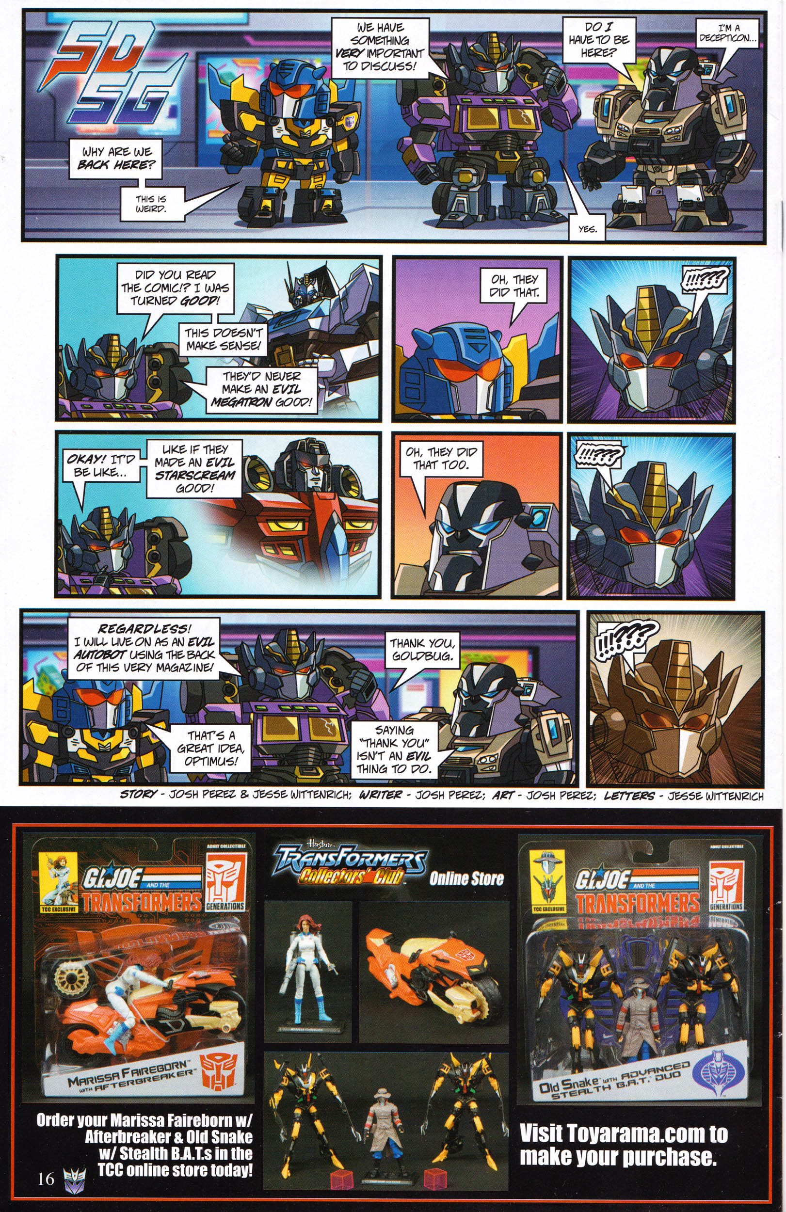 Read online Transformers: Collectors' Club comic -  Issue #65 - 16