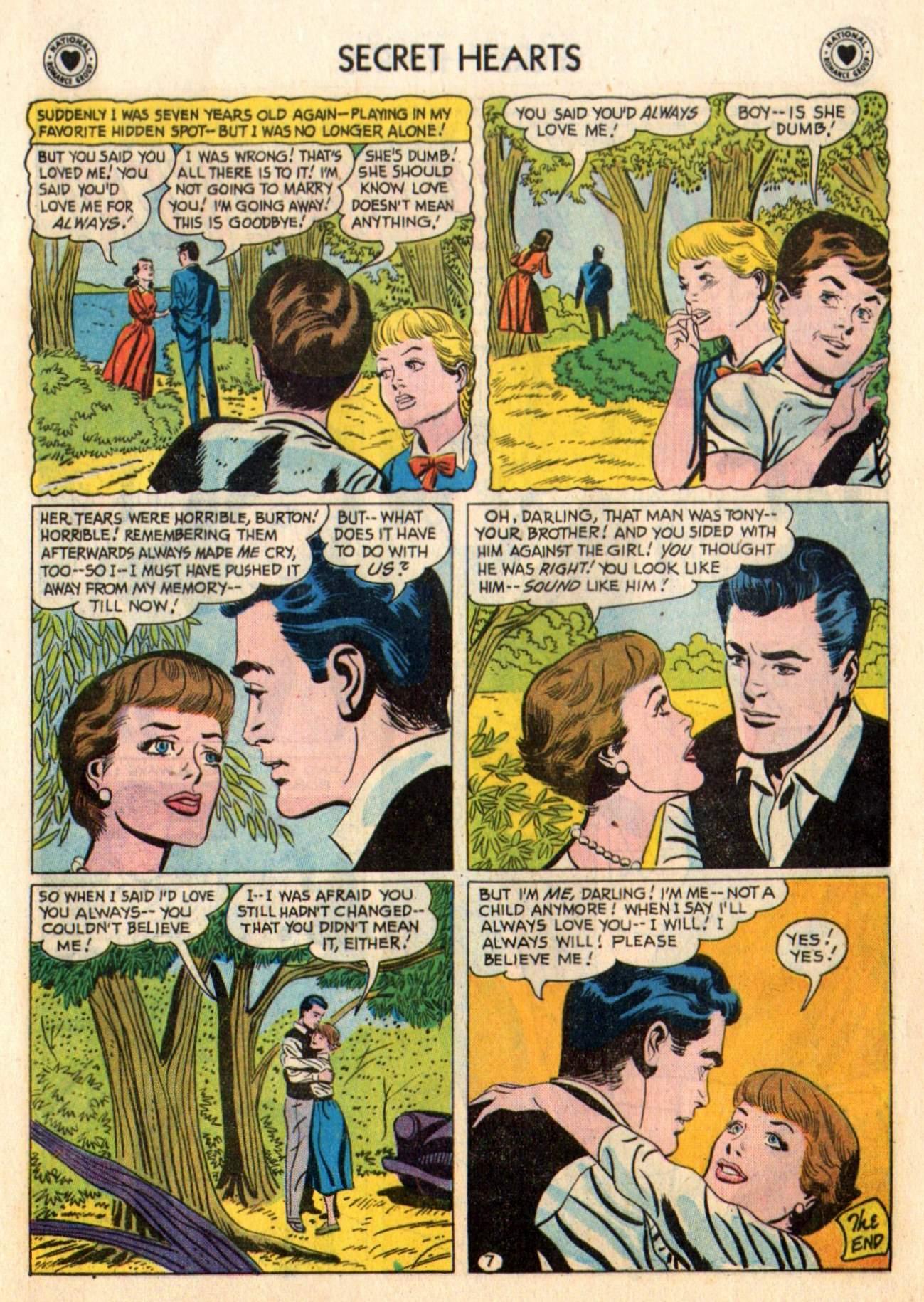 Read online Secret Hearts comic -  Issue #48 - 9