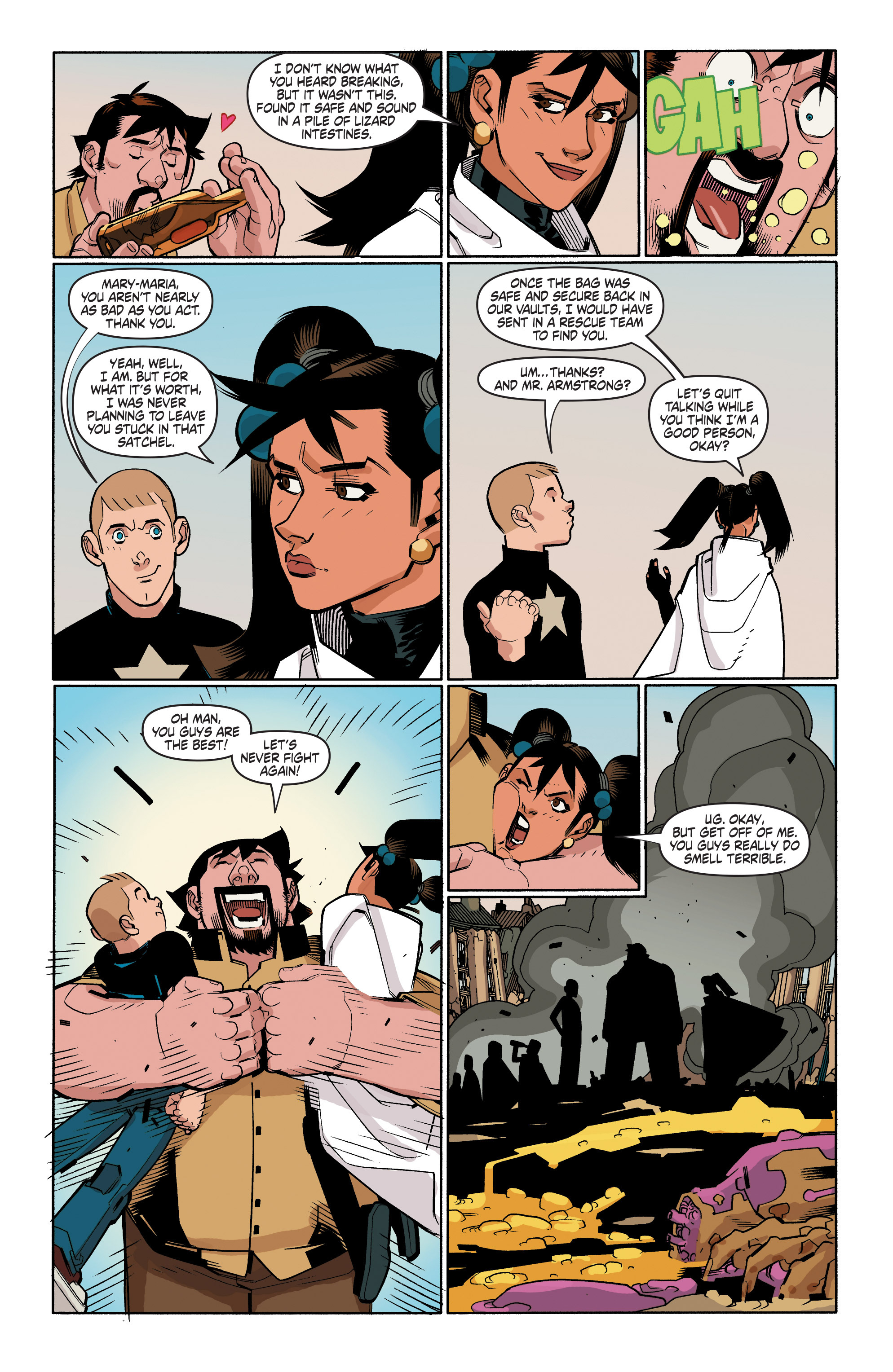 Read online A&A: The Adventures of Archer & Armstrong comic -  Issue #4 - 21