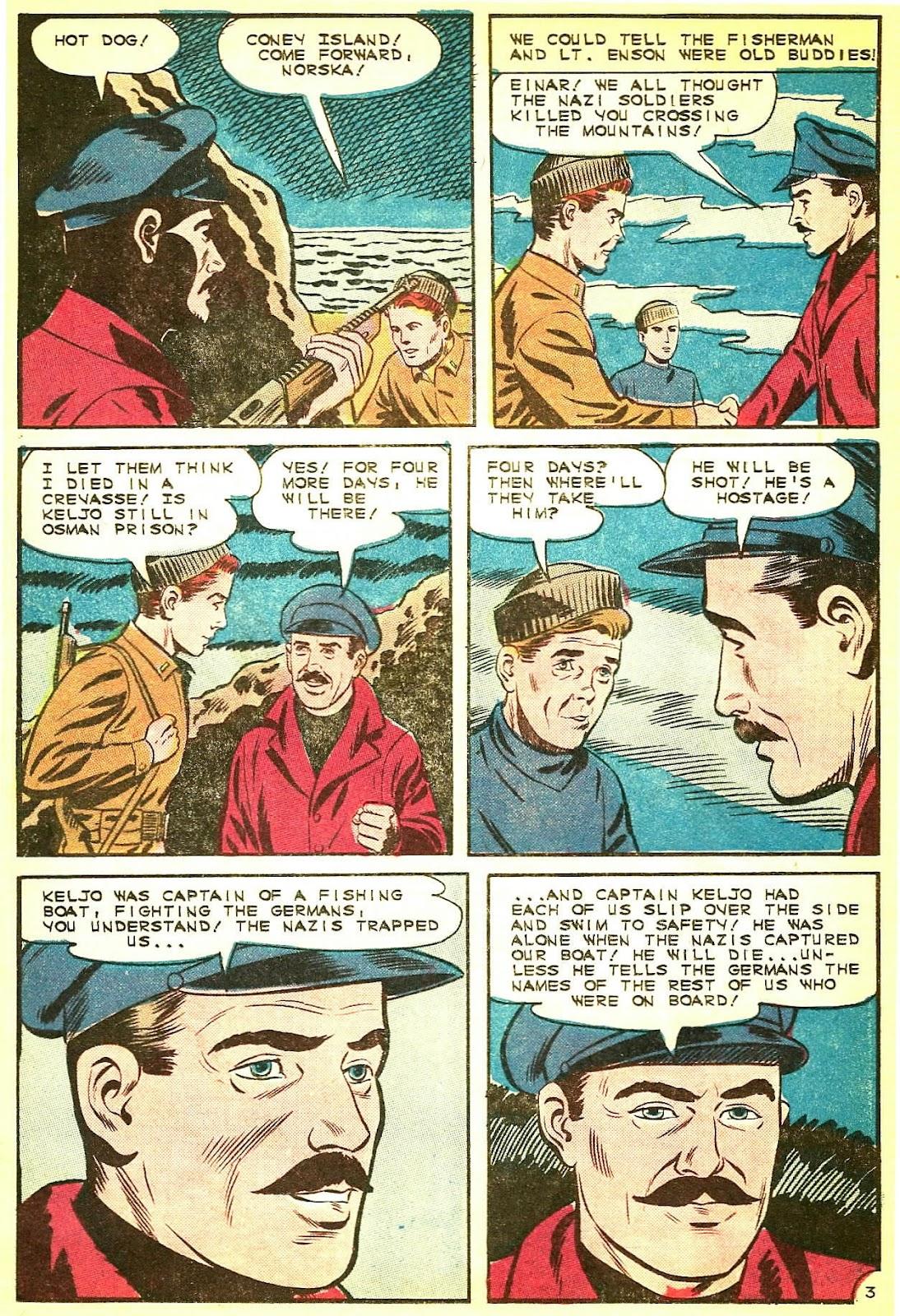 Read online Fightin' Navy comic -  Issue #124 - 17