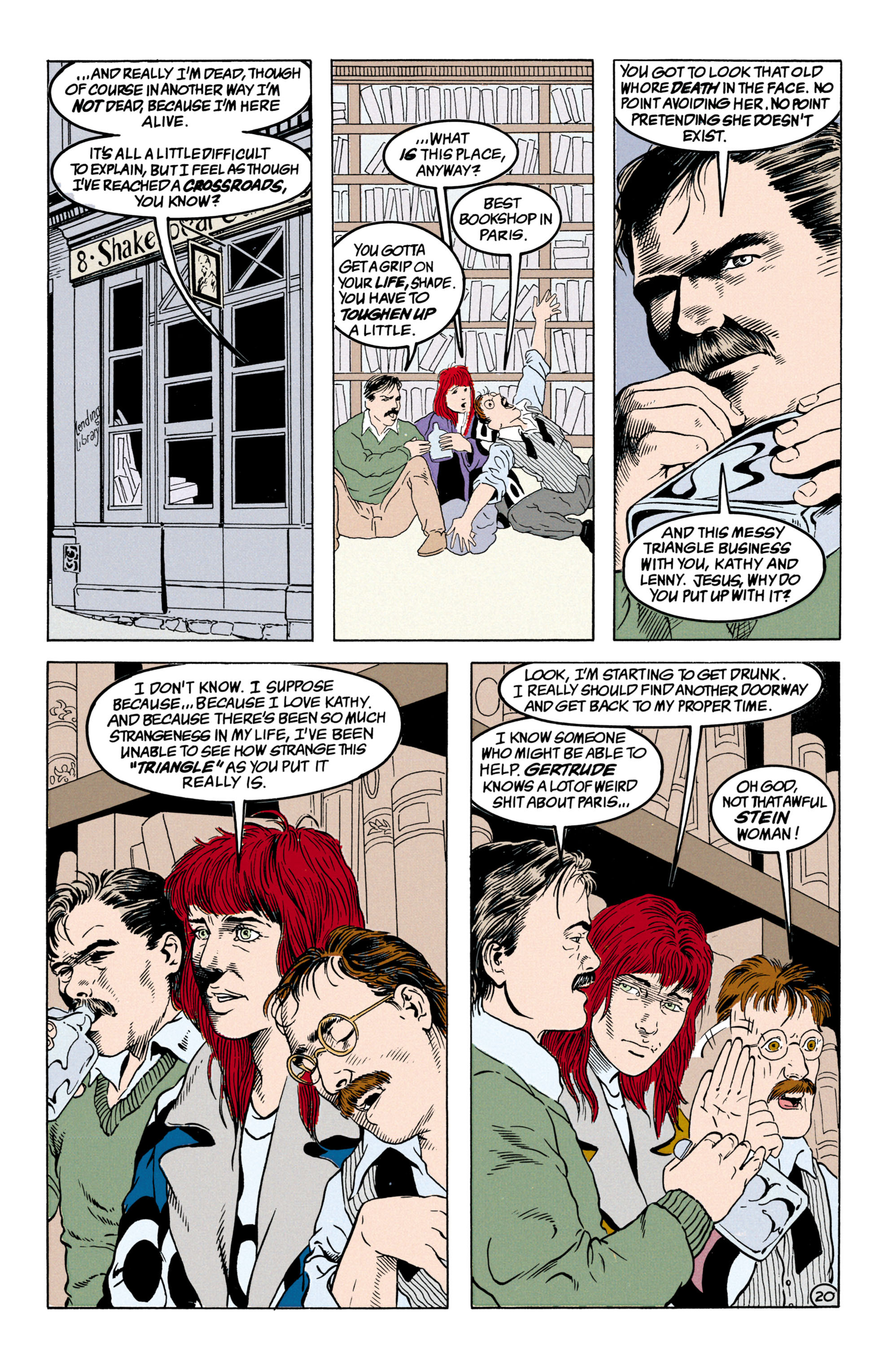 Read online Shade, the Changing Man comic -  Issue #31 - 21