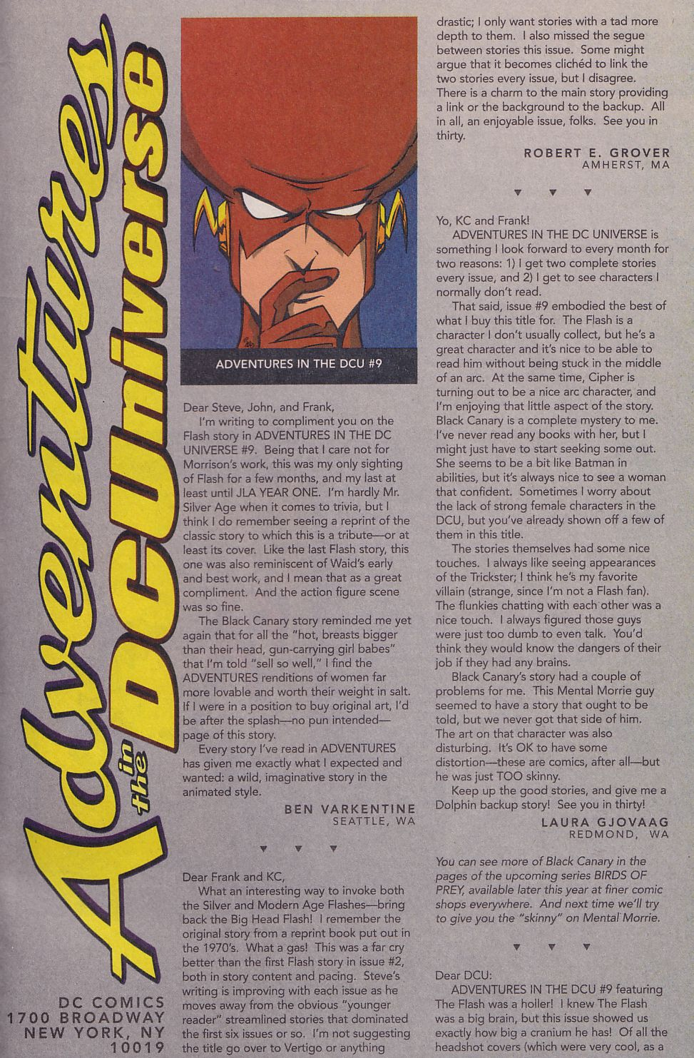 Read online Adventures in the DC Universe comic -  Issue #14 - 24