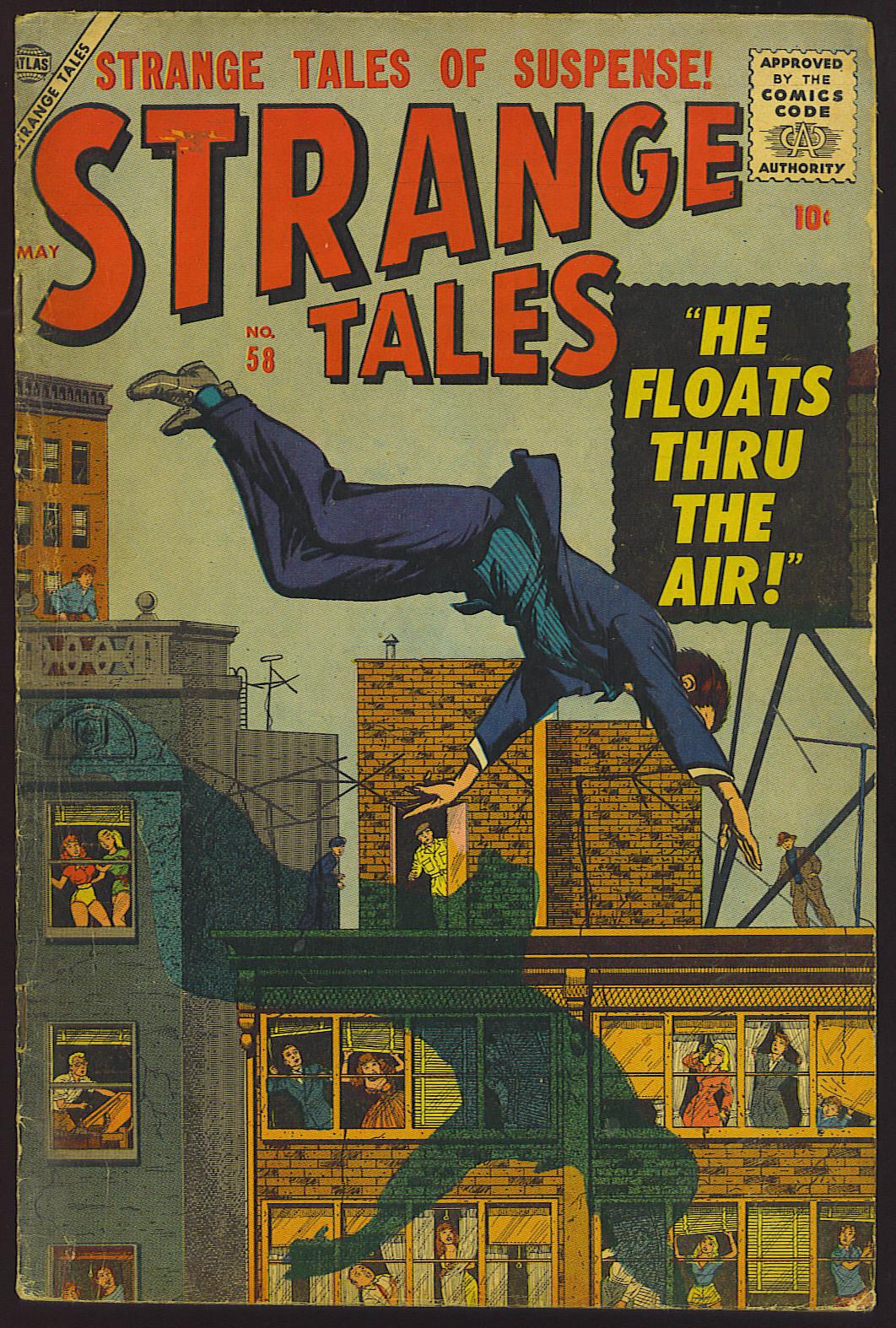Strange Tales (1951) 58 Page 1