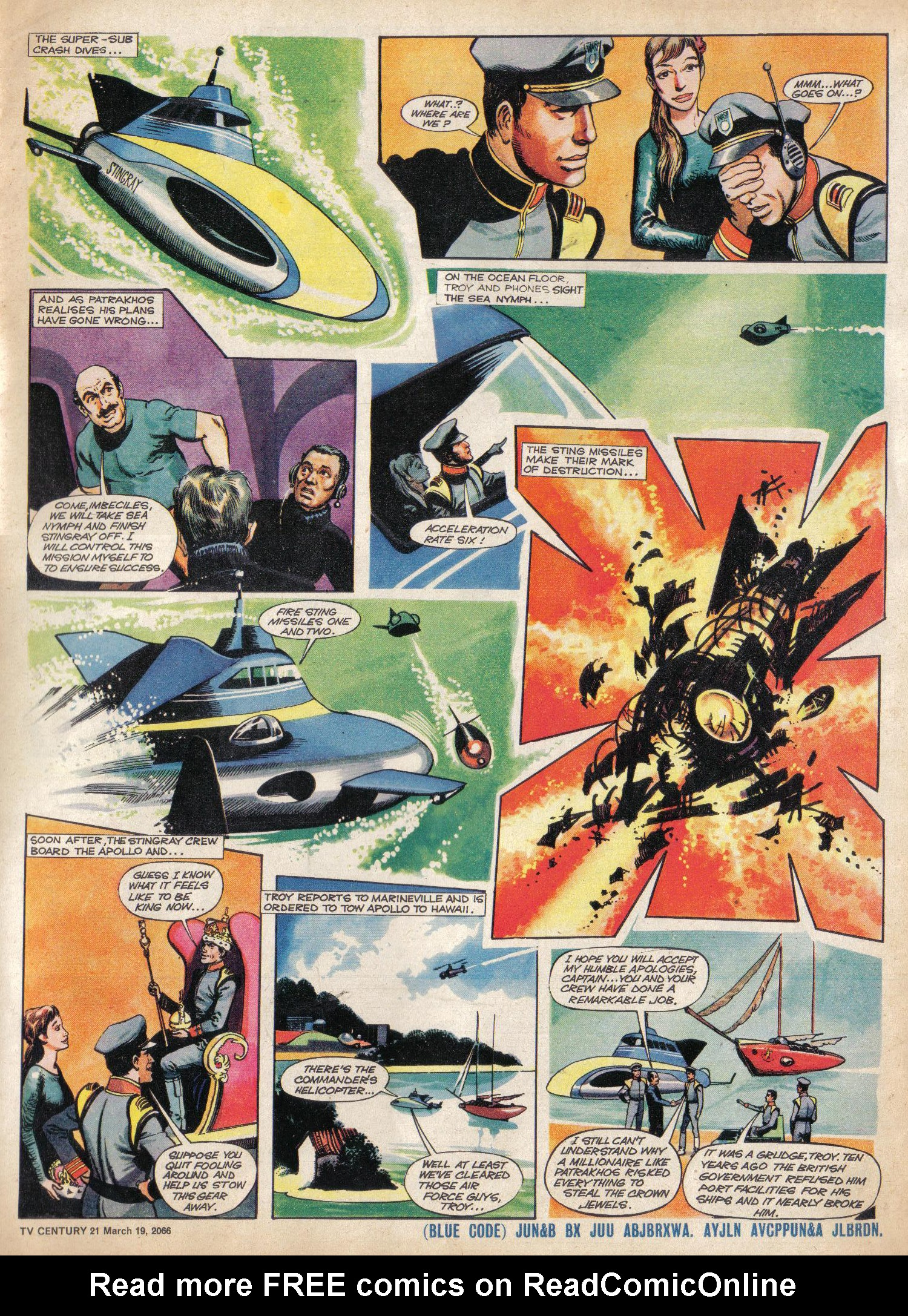 Read online TV Century 21 (TV 21) comic -  Issue #61 - 5