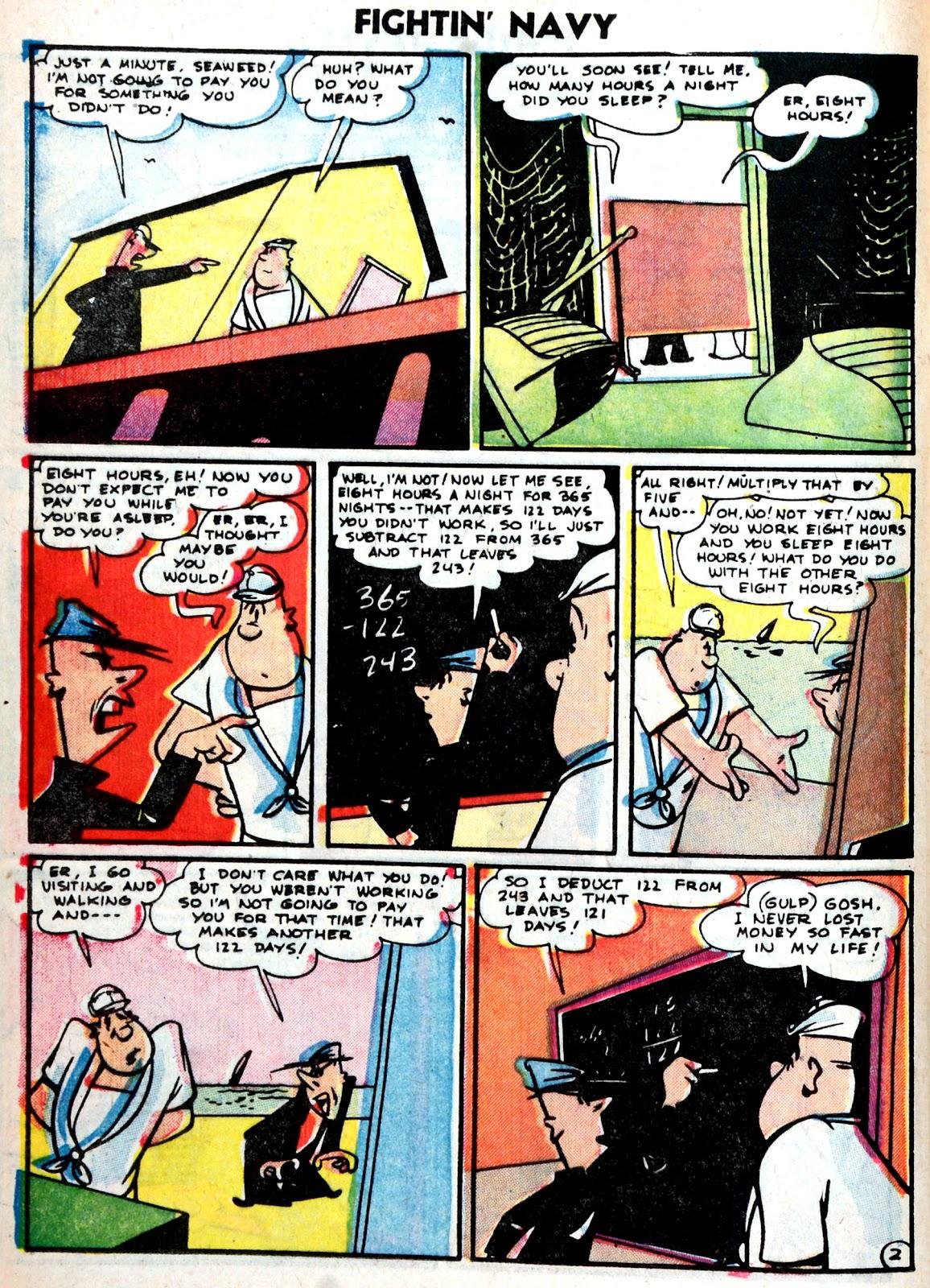 Read online Fightin' Navy comic -  Issue #75 - 20