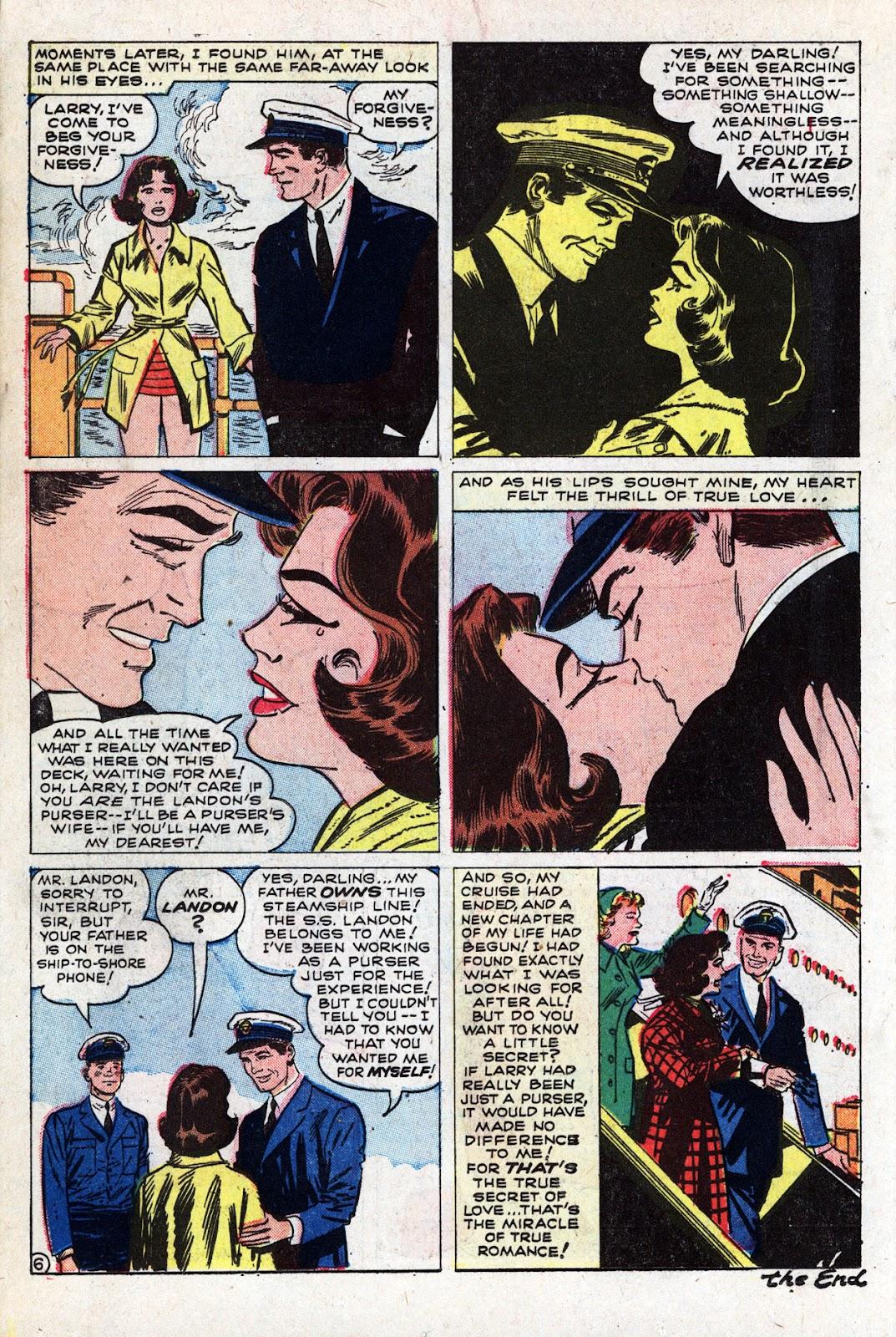 Love Romances (1949) issue 95 - Page 18