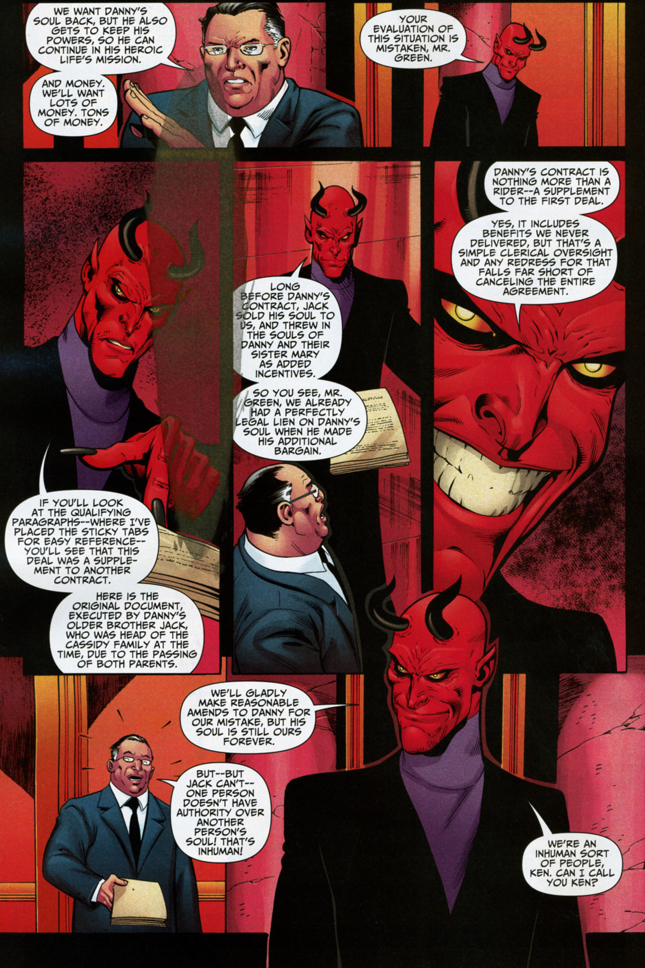 Read online Shadowpact comic -  Issue #16 - 13