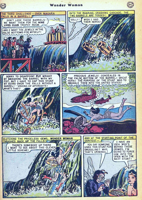 Read online Wonder Woman (1942) comic -  Issue #35 - 11
