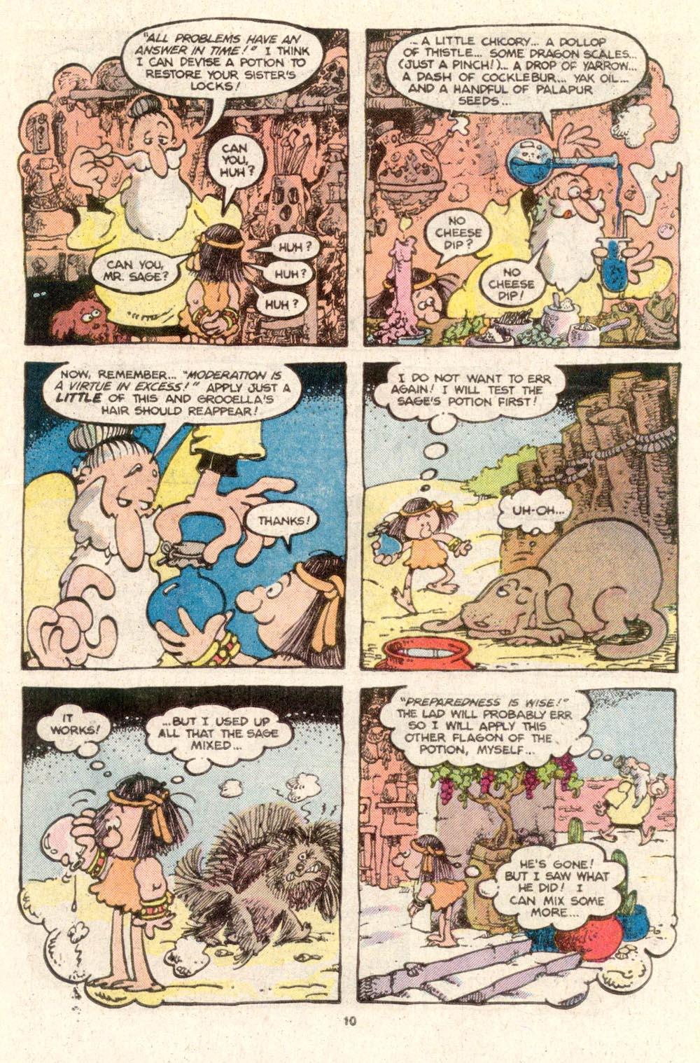 Read online Sergio Aragonés Groo the Wanderer comic -  Issue #19 - 10