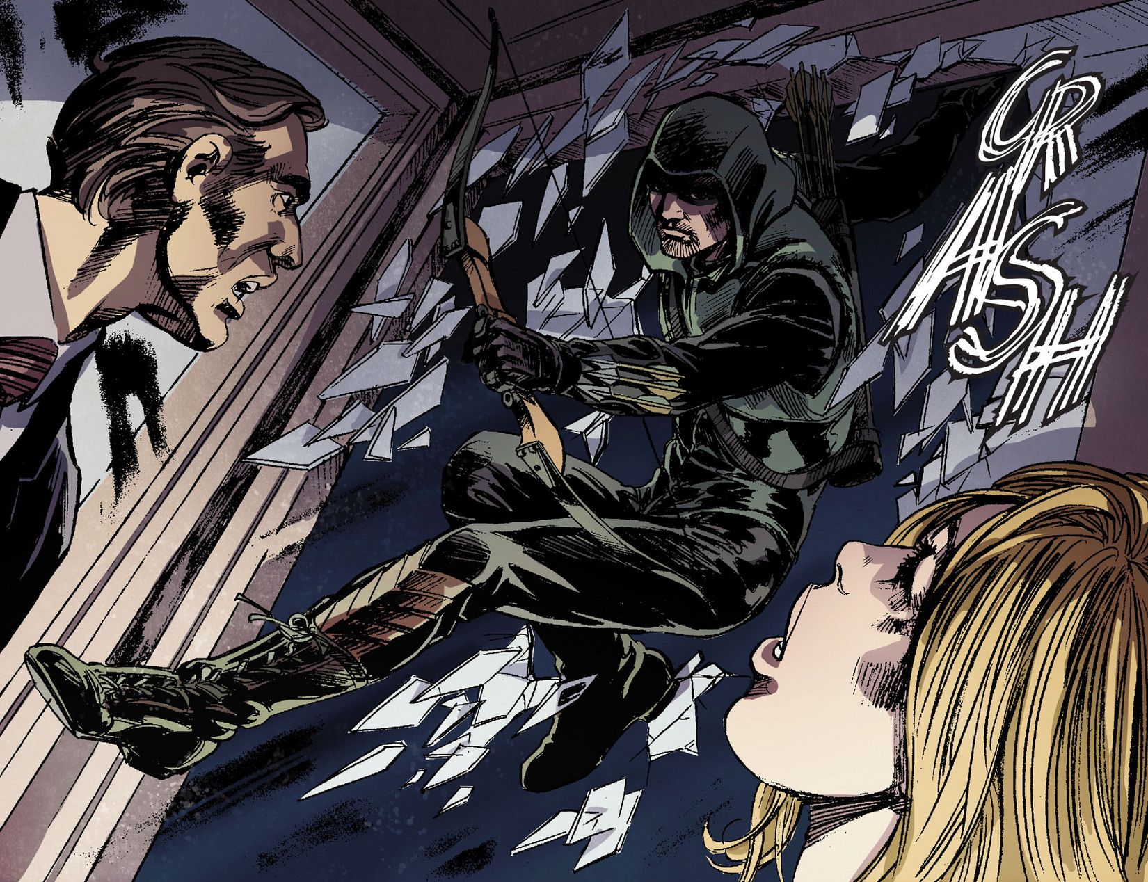 Read online Arrow [II] comic -  Issue #6 - 12