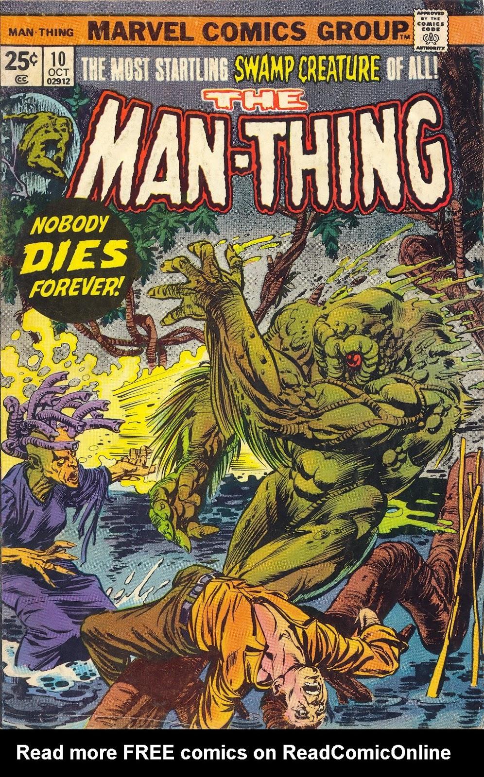 Man-Thing (1974) 10 Page 1