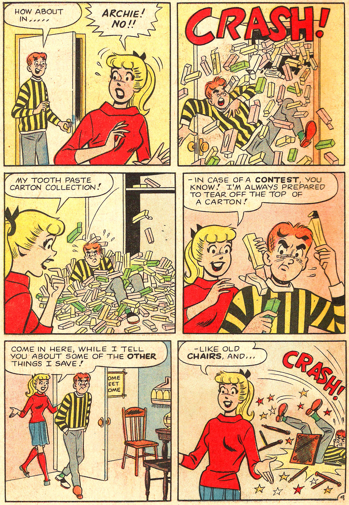 Read online Archie's Girls Betty and Veronica comic -  Issue #89 - 6