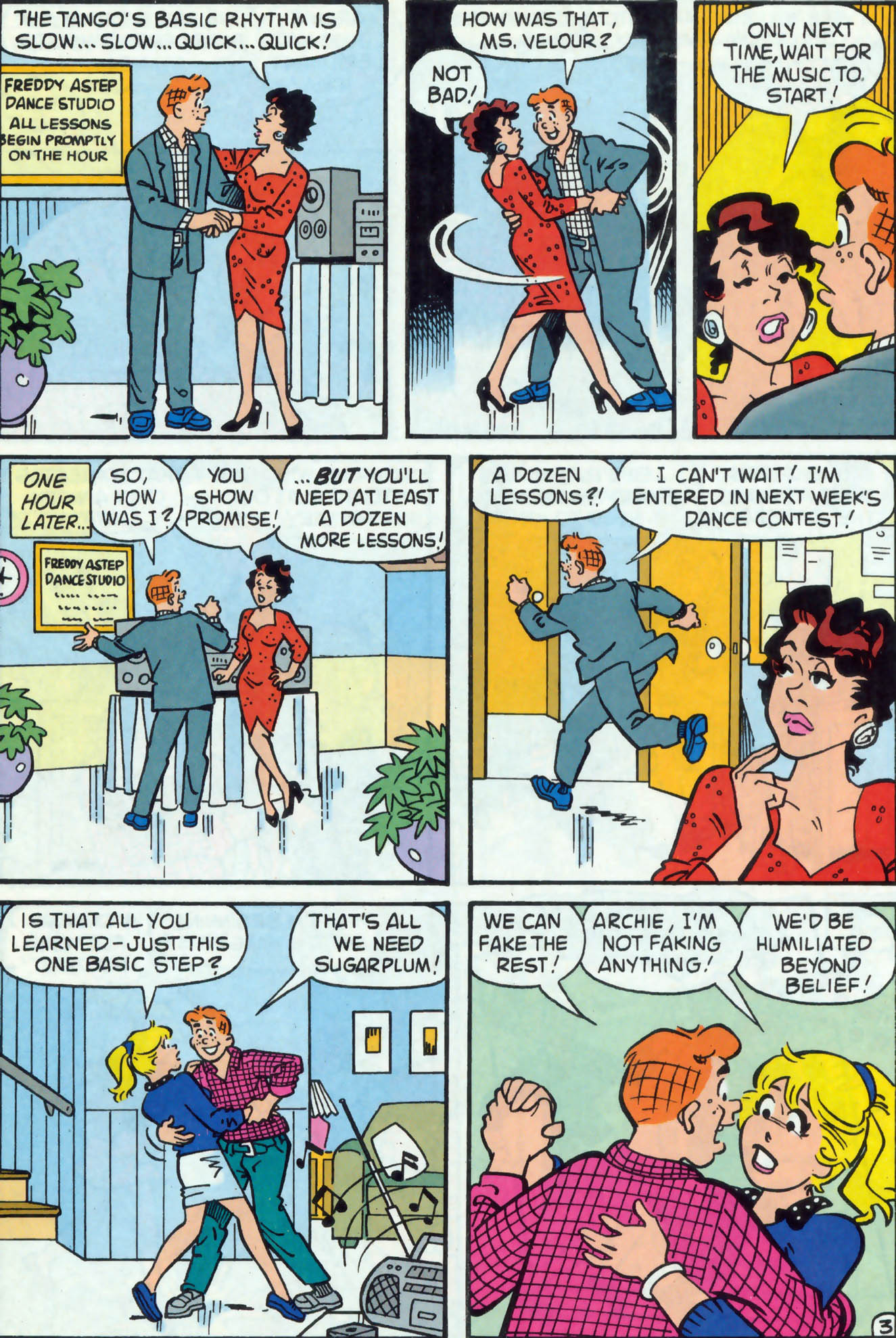 Read online Archie (1960) comic -  Issue #477 - 4