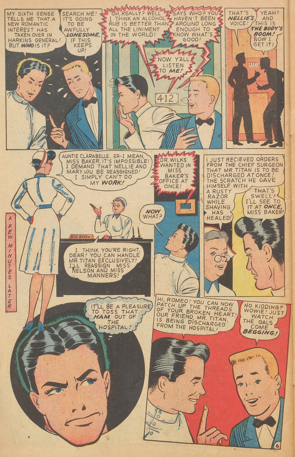Read online Nellie The Nurse (1945) comic -  Issue #15 - 48