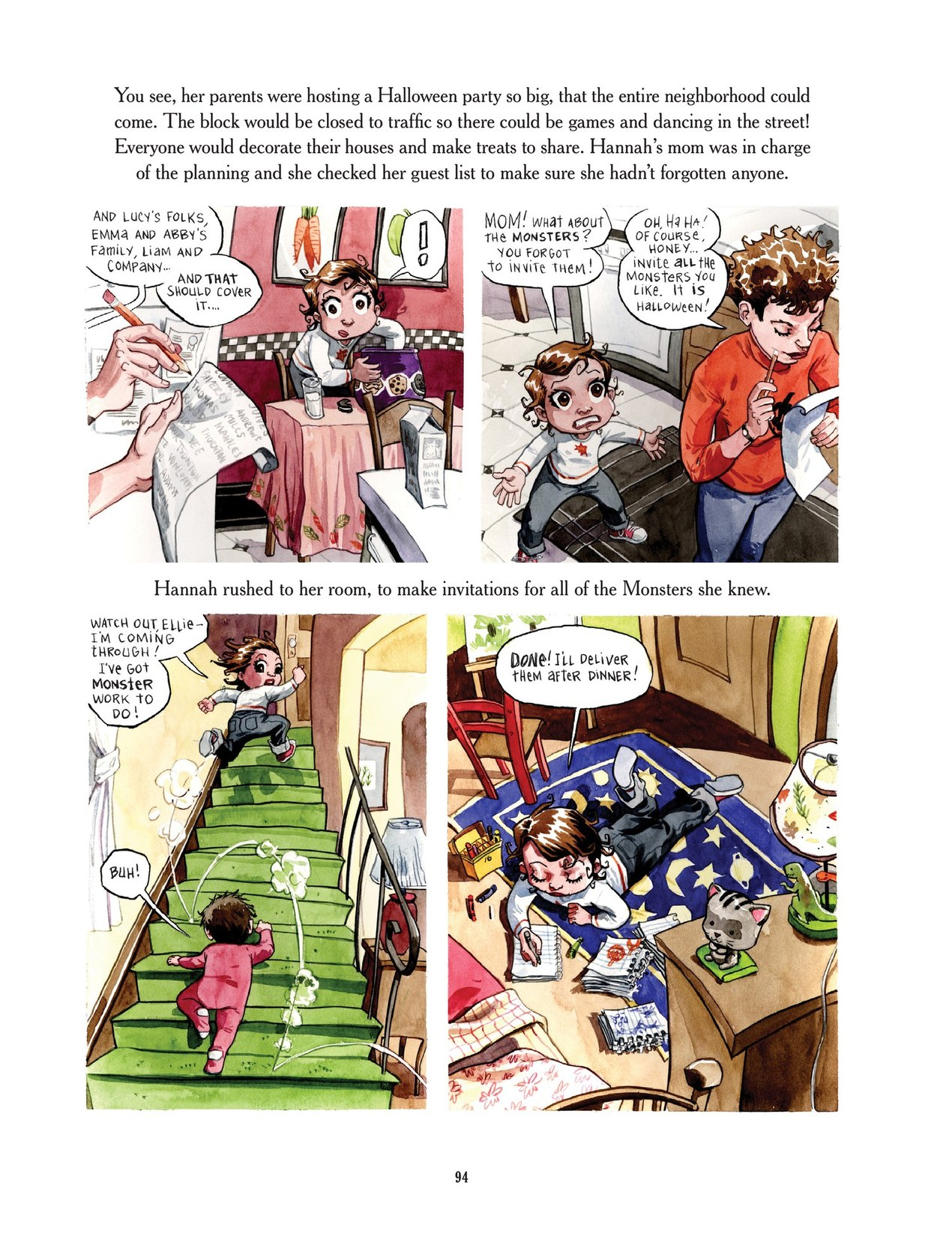 Read online Scary Godmother comic -  Issue # TPB - 94