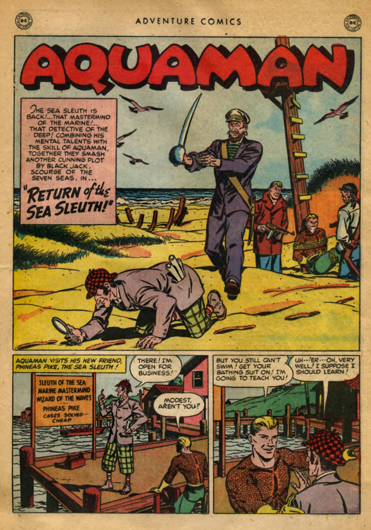 Read online Adventure Comics (1938) comic -  Issue #141 - 29