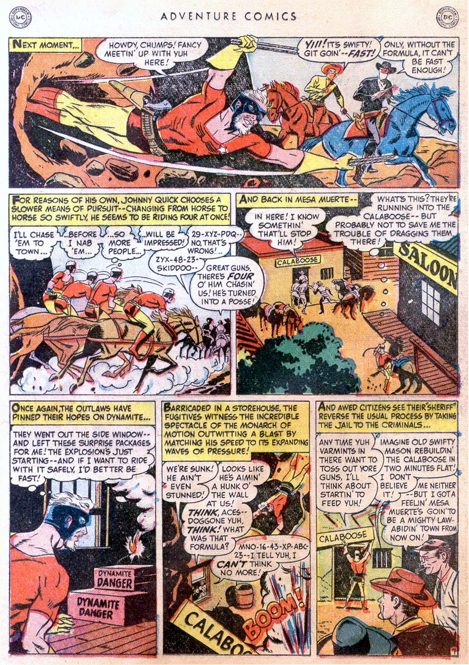 Read online Adventure Comics (1938) comic -  Issue #158 - 23