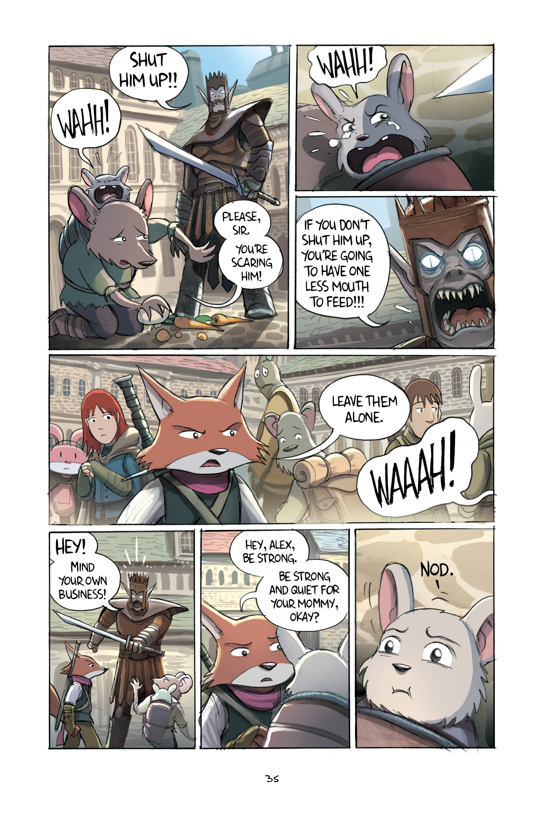 Read online Amulet comic -  Issue #2 - 37