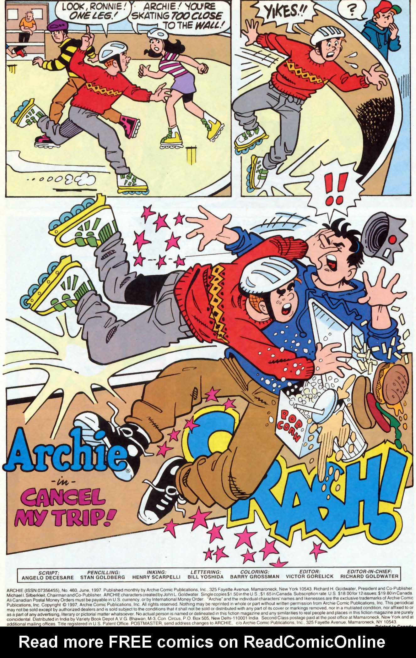 Read online Archie (1960) comic -  Issue #460 - 2