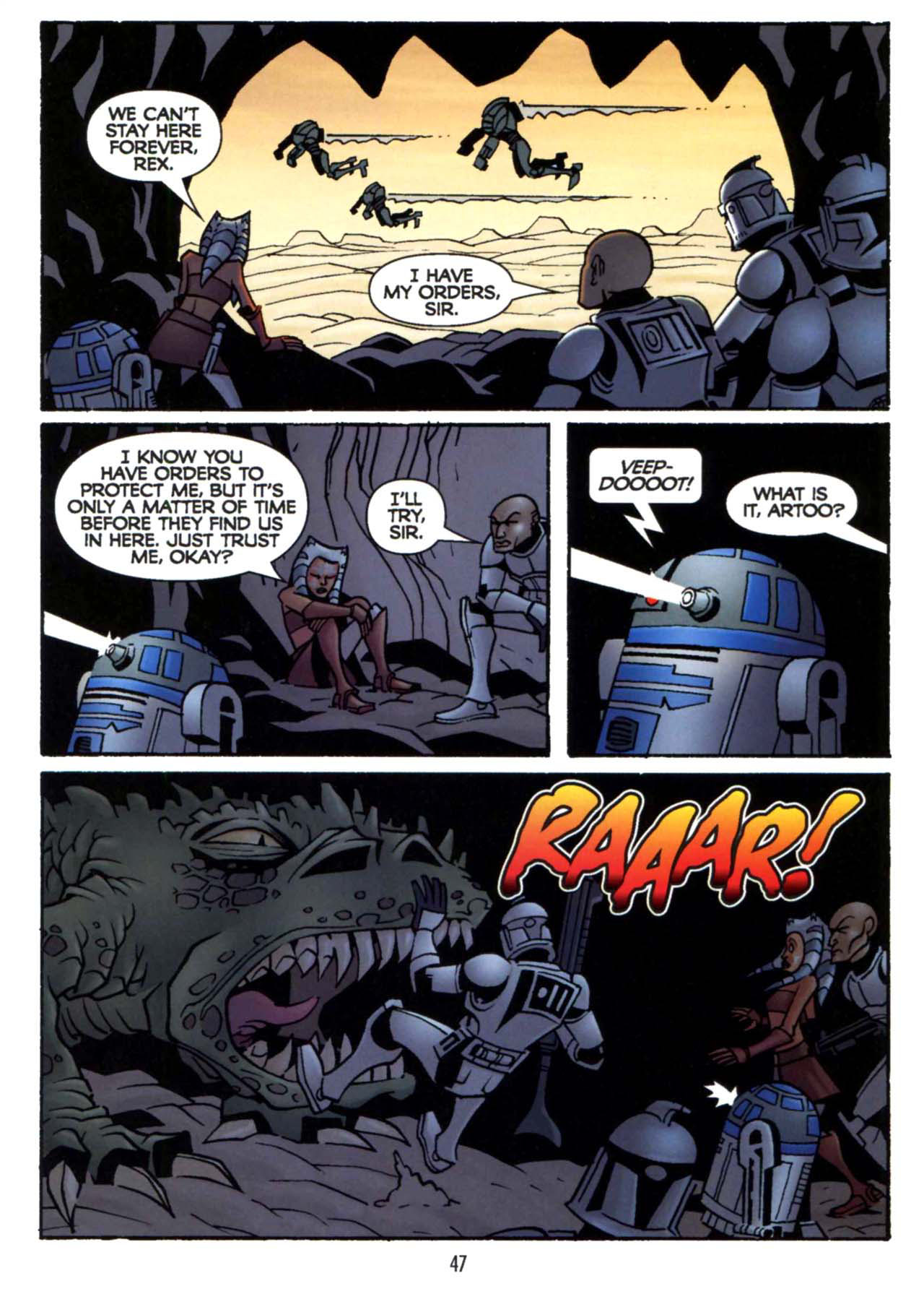 Read online Star Wars: The Clone Wars - Shipyards of Doom comic -  Issue # Full - 45