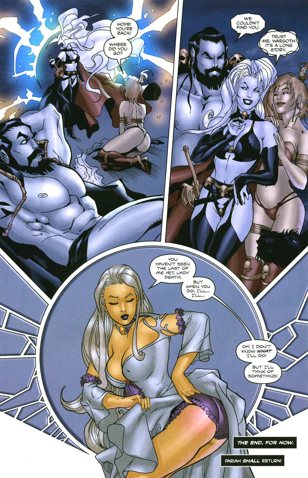 Read online Lady Death: The Wicked comic -  Issue #1 - 32