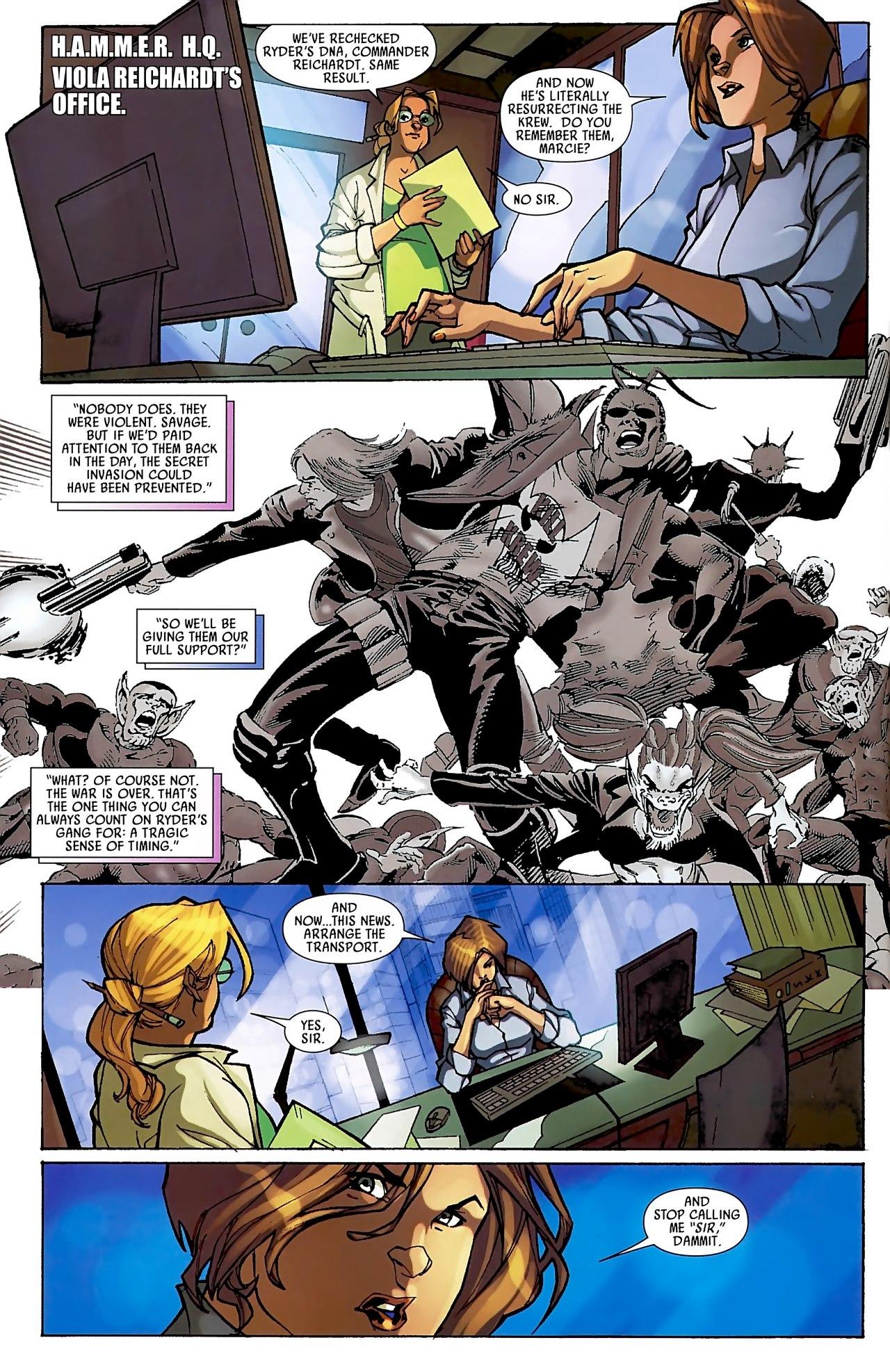 Read online Skrull Kill Krew (2009) comic -  Issue #3 - 4