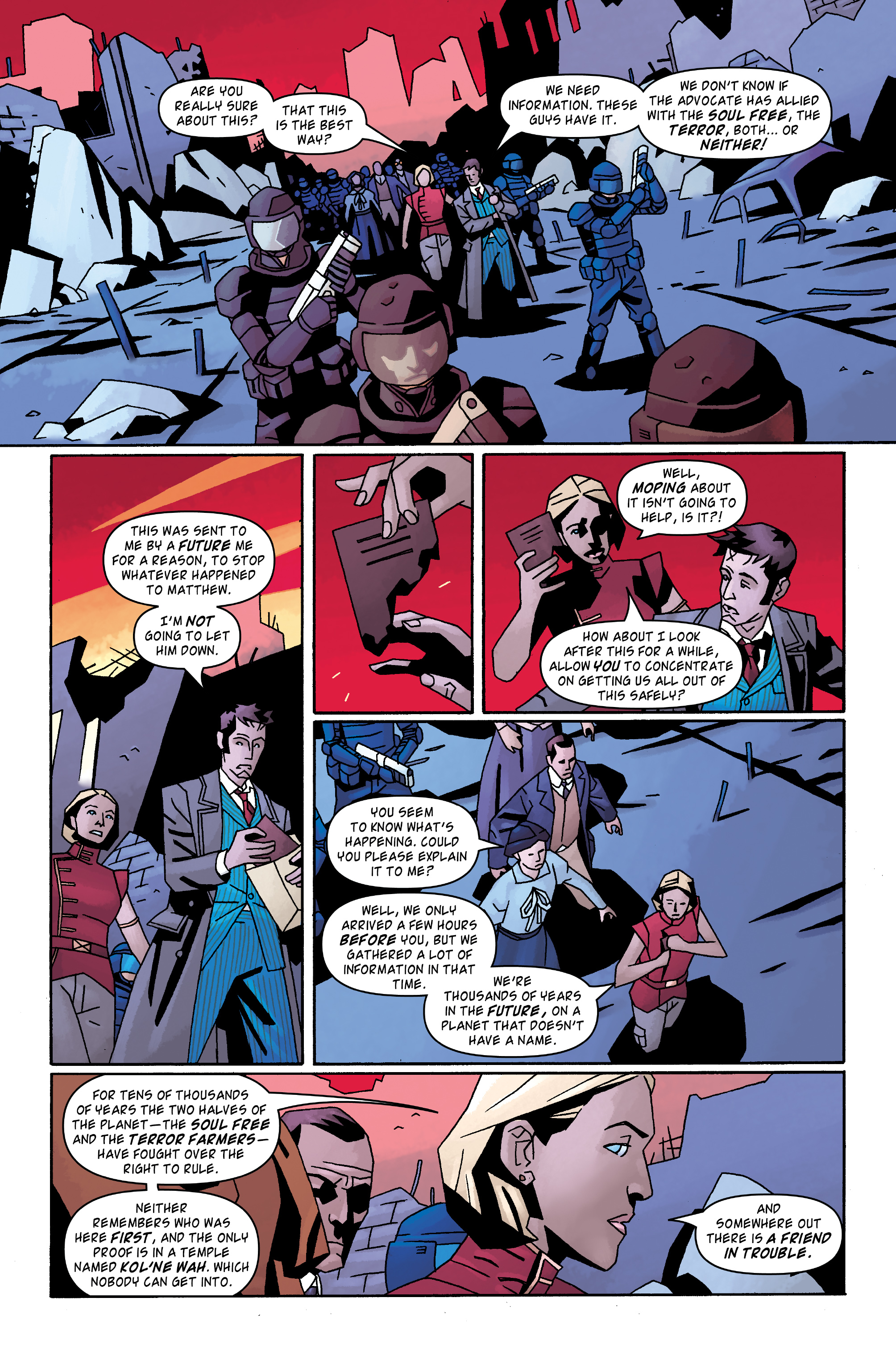Read online Doctor Who: The Tenth Doctor Archives comic -  Issue #31 - 13