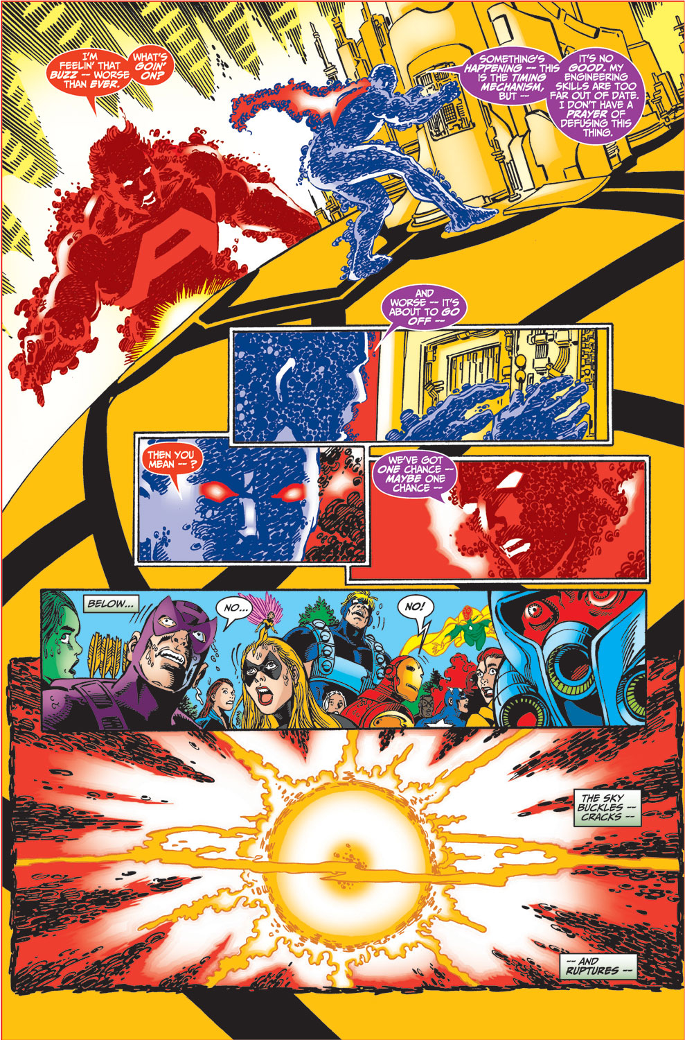 Read online Avengers (1998) comic -  Issue #34 - 28