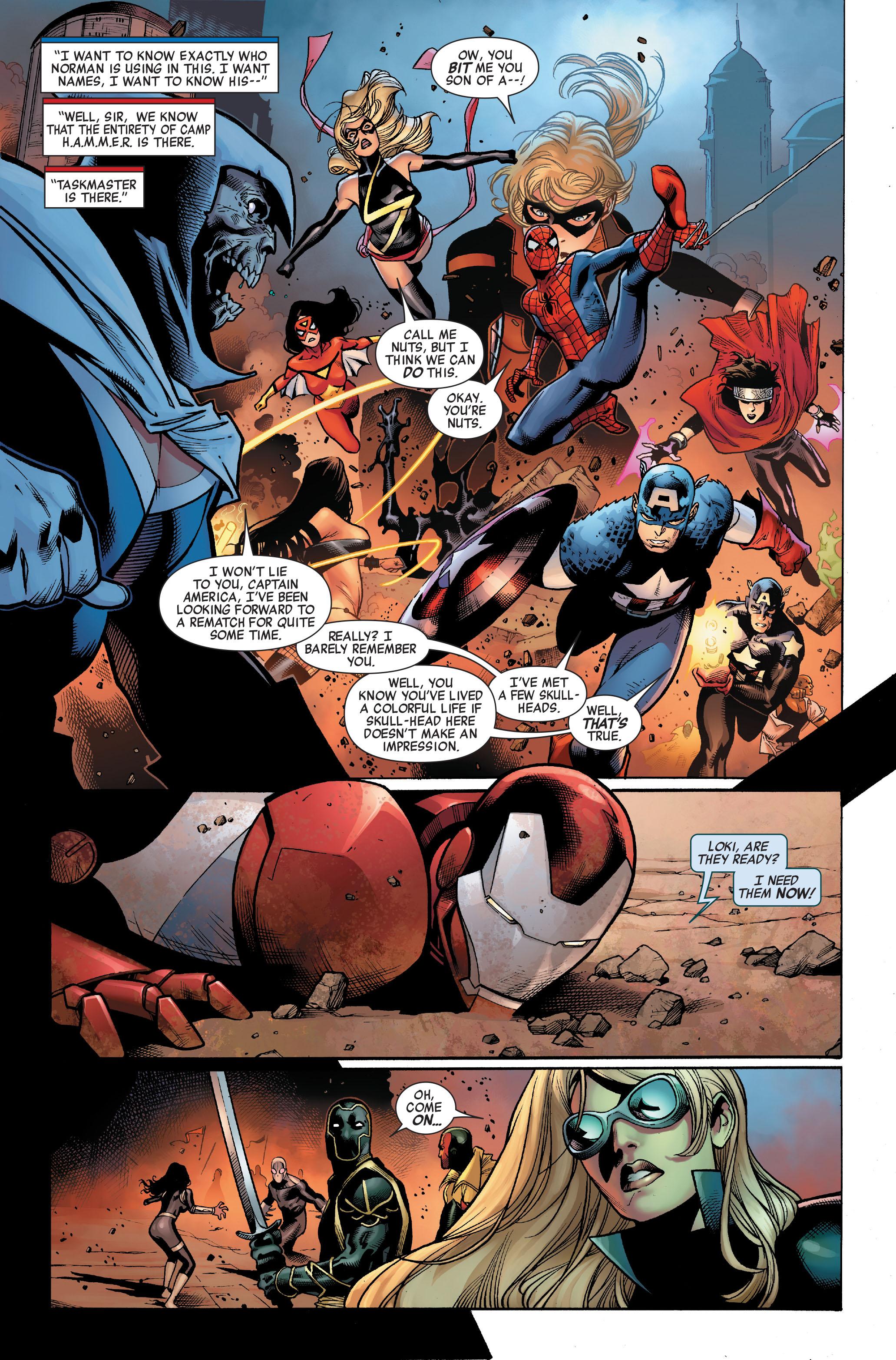 Read online Siege (2010) comic -  Issue #3 - 8