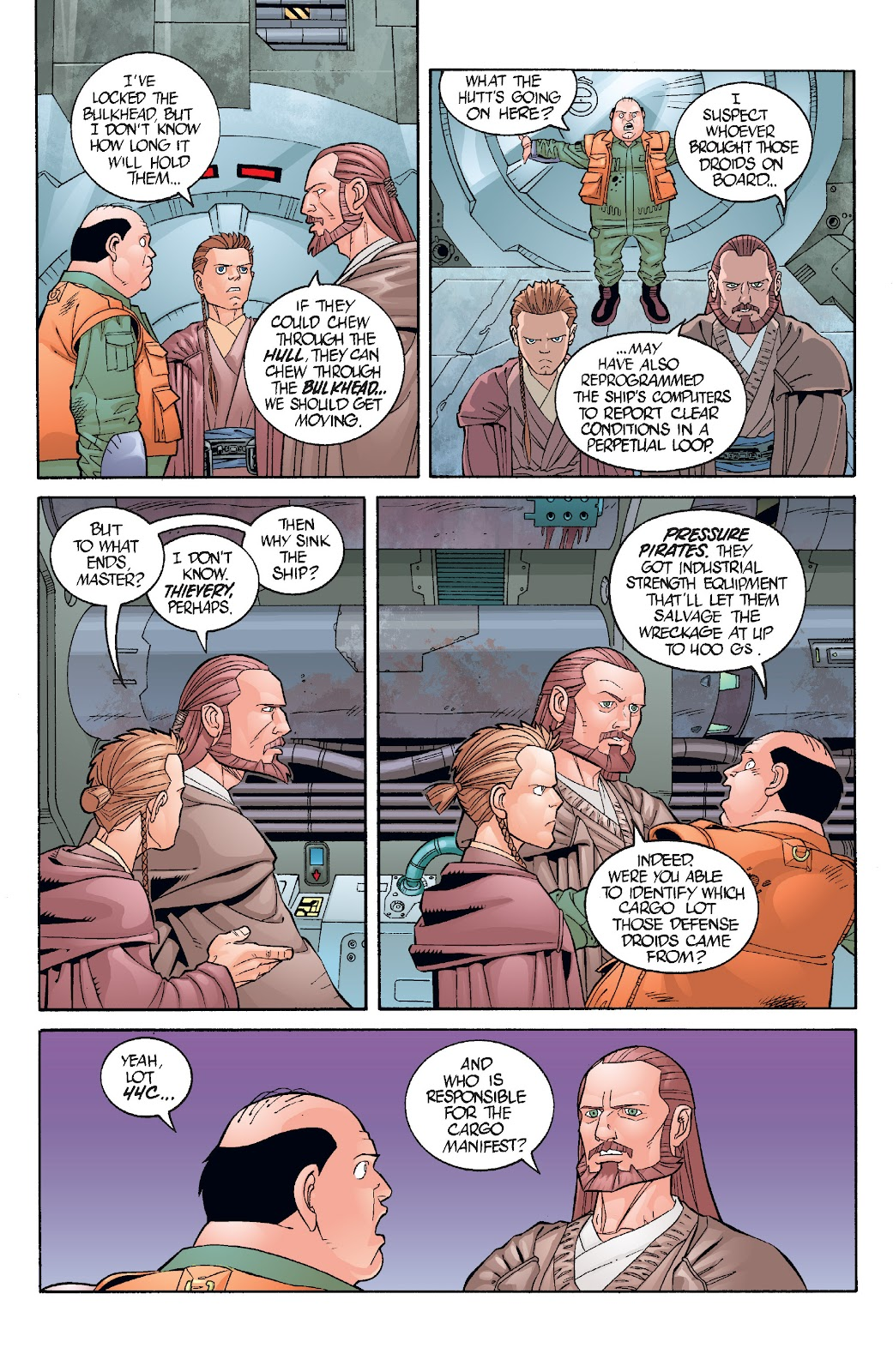 Read online Star Wars Legends: Rise of the Sith - Epic Collection comic -  Issue # TPB 1 (Part 3) - 38