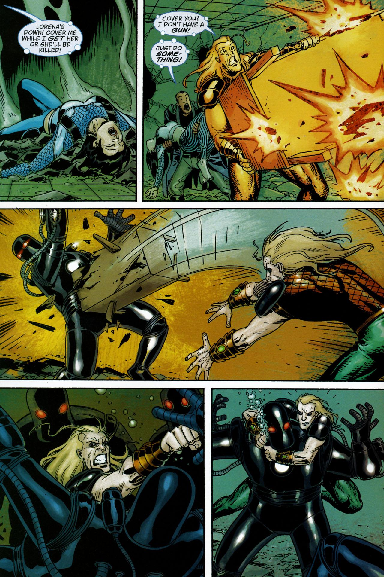 Read online Aquaman: Sword of Atlantis comic -  Issue #53 - 4