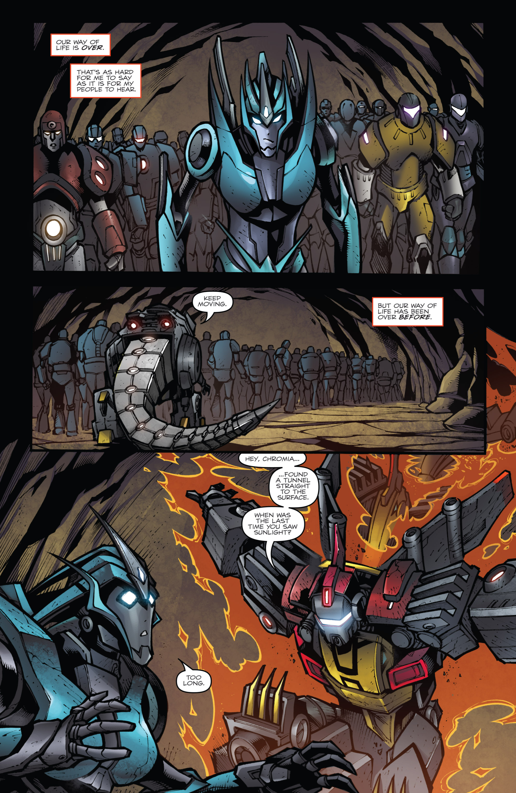 Read online Transformers Prime: Beast Hunters comic -  Issue #6 - 10