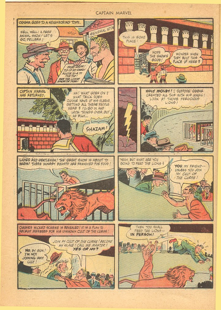 Captain Marvel Adventures issue 62 - Page 34