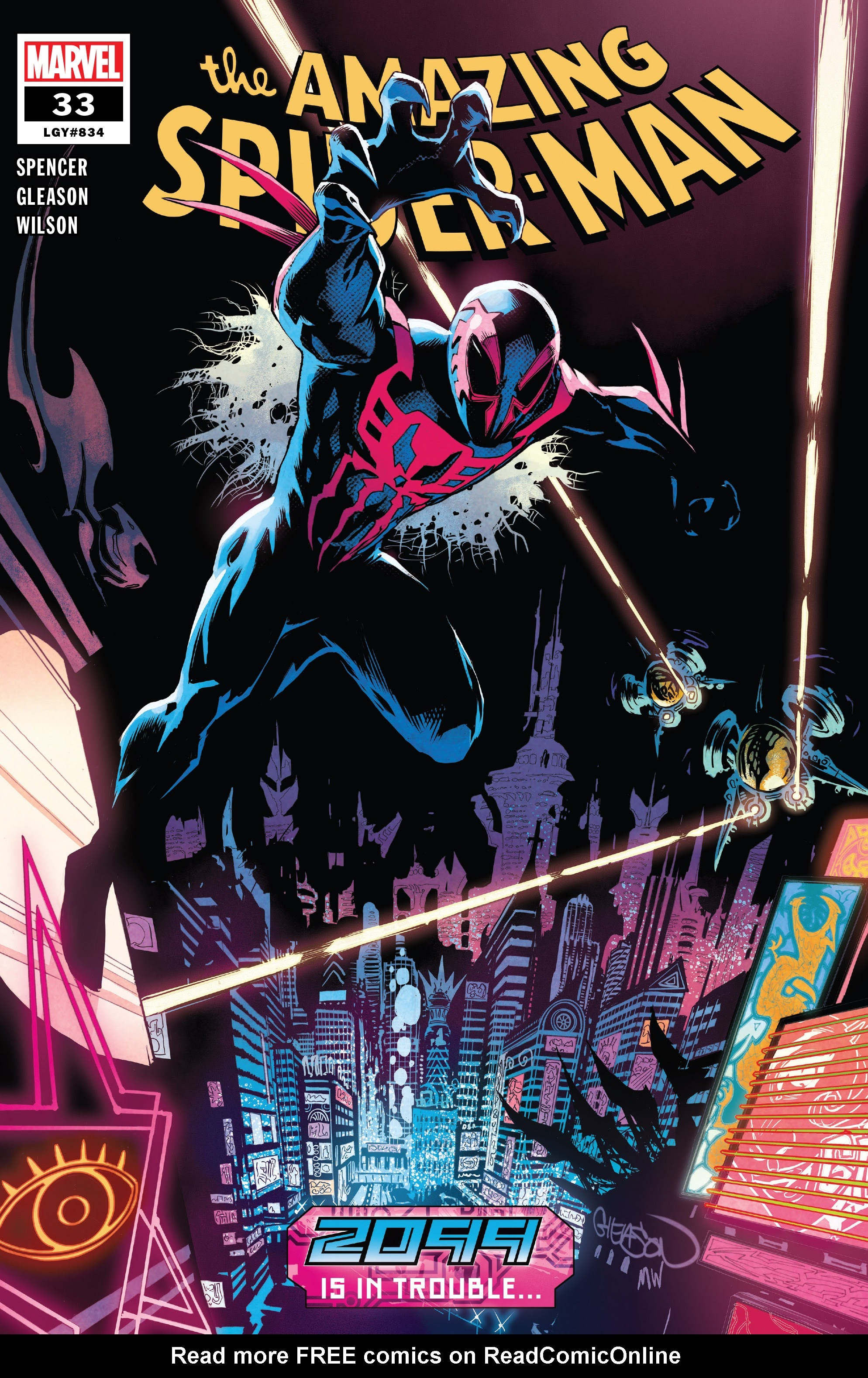 The Amazing Spider-Man (2018) 33 Page 1