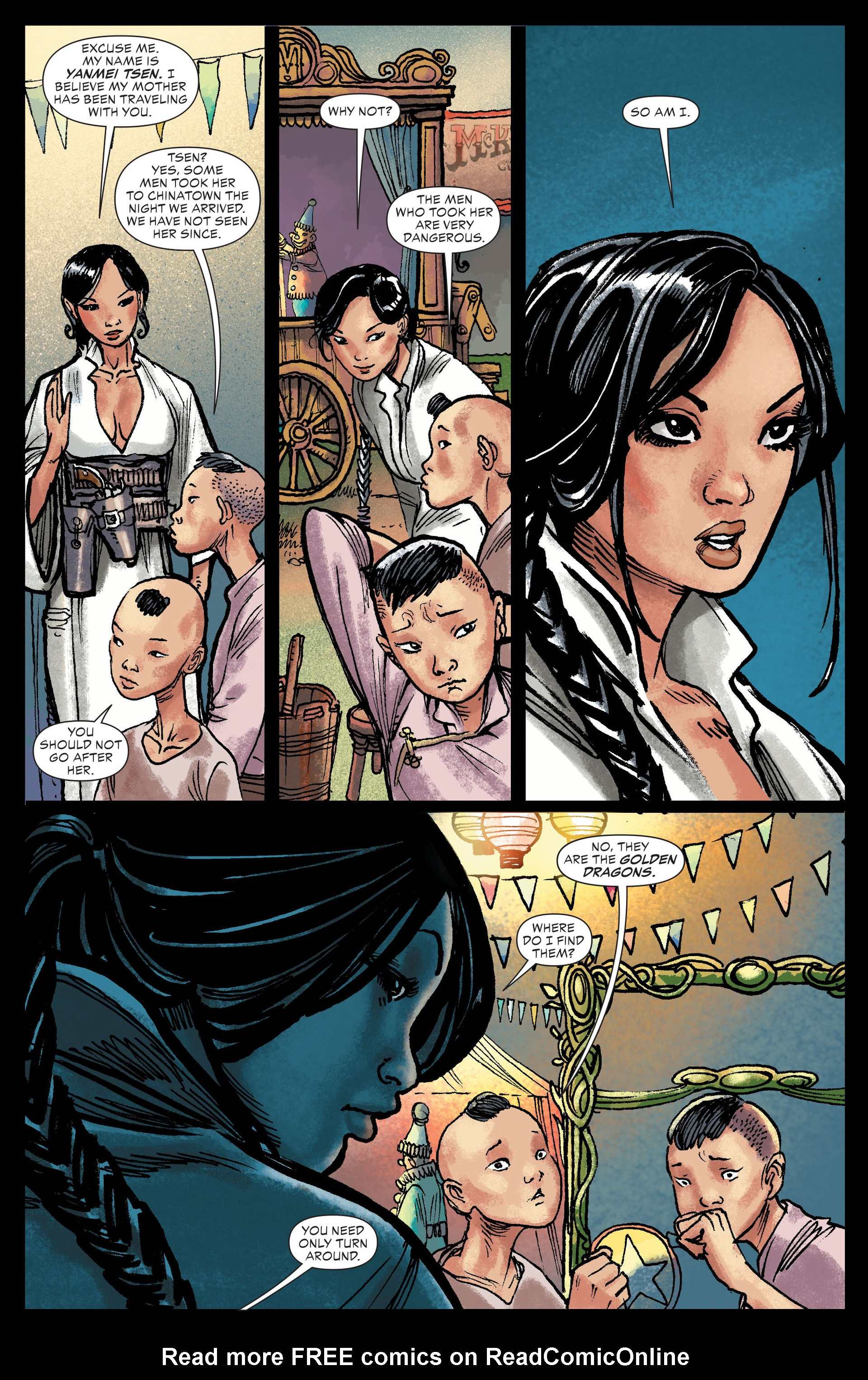 Read online All-Star Western (2011) comic -  Issue #13 - 7