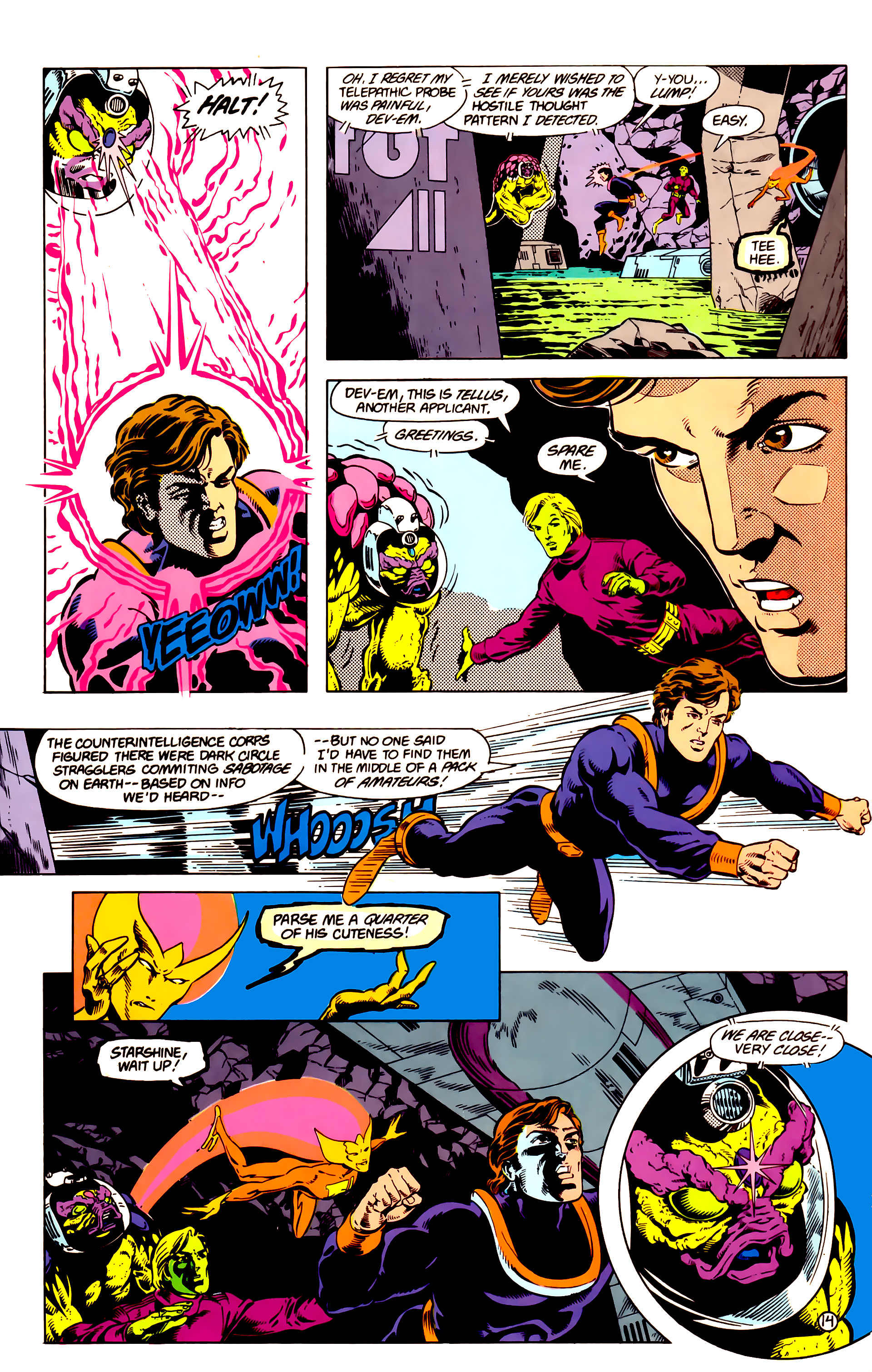 Legion of Super-Heroes (1984) 14 Page 15
