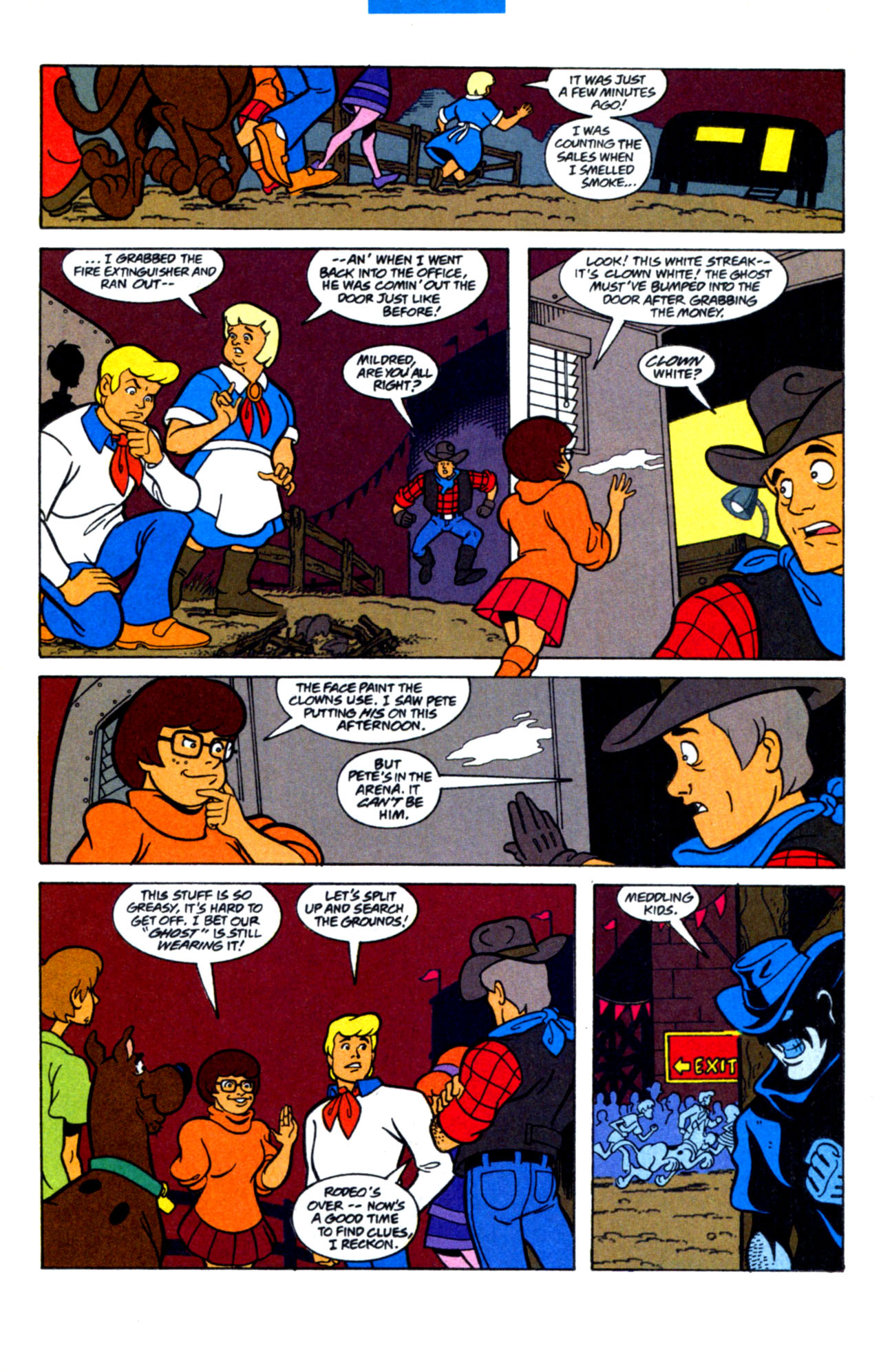 Read online Scooby-Doo (1997) comic -  Issue #15 - 17