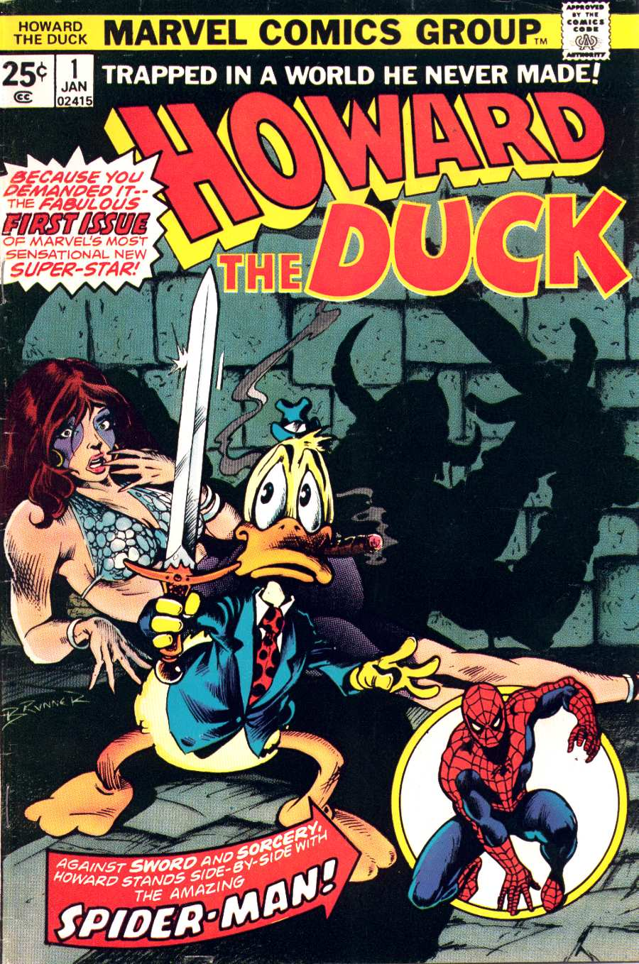 Howard the Duck (1976) issue 1 - Page 1