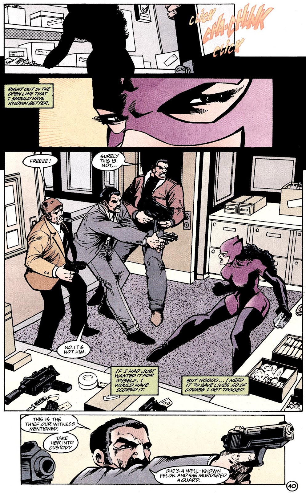 Catwoman (1993) Annual 4 #4 - English 42