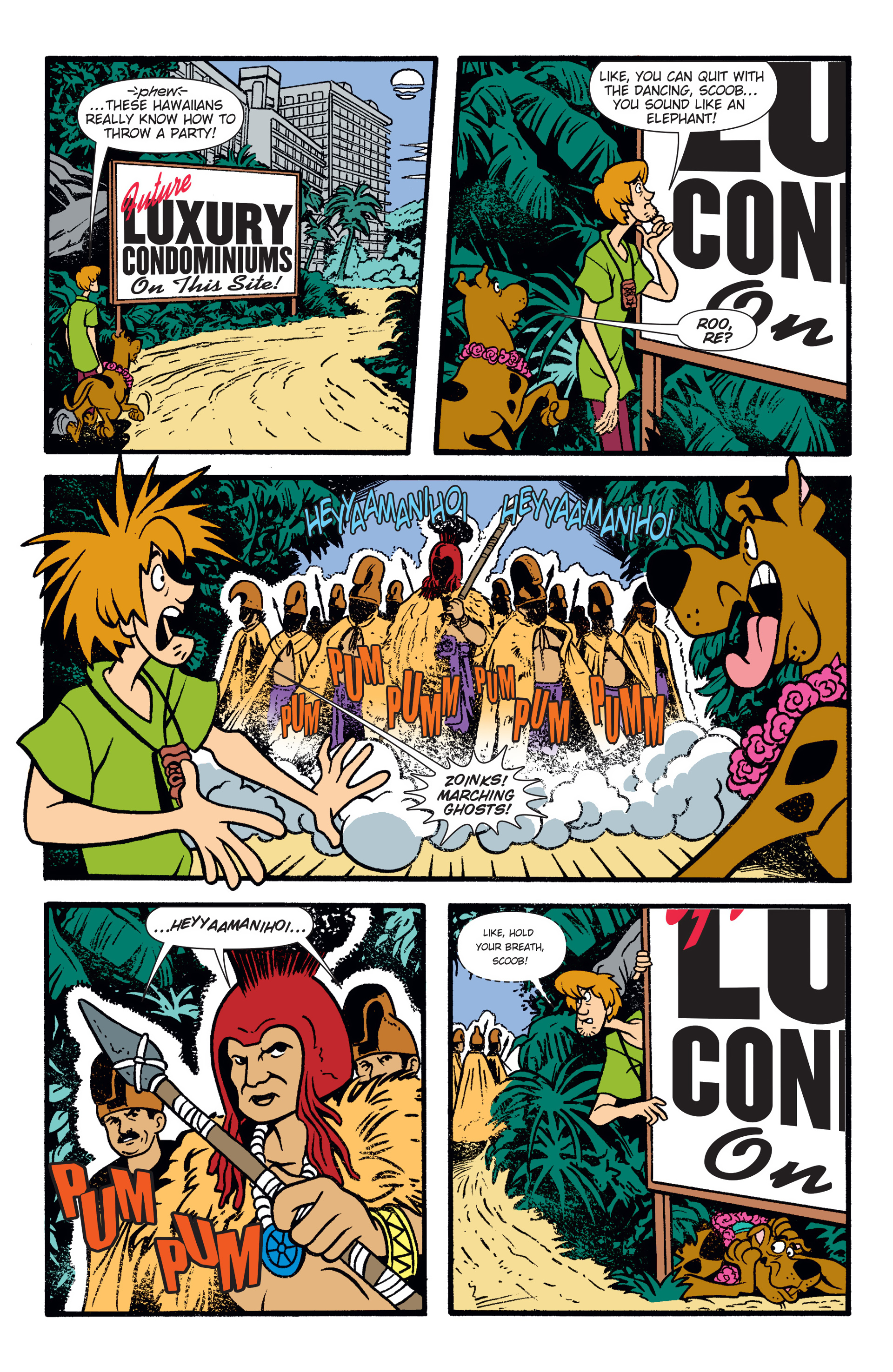 Read online Scooby-Doo: Where Are You? comic -  Issue #47 - 15