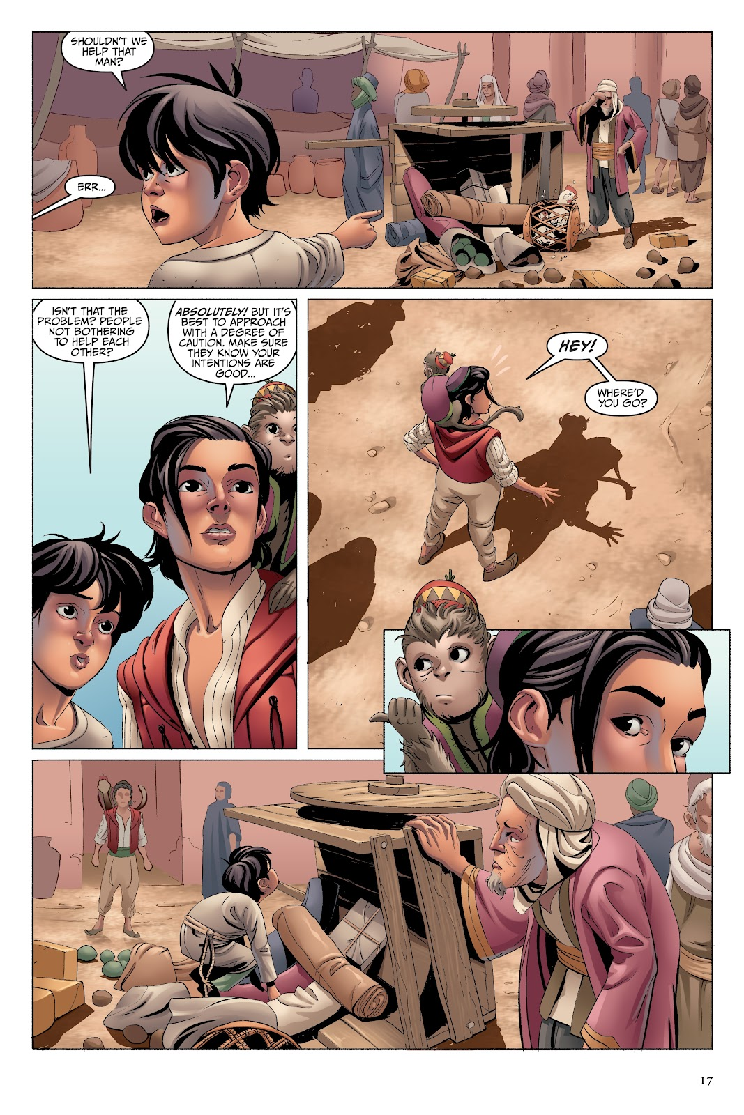 Read online Disney Aladdin: Four Tales of Agrabah comic -  Issue # TPB - 17