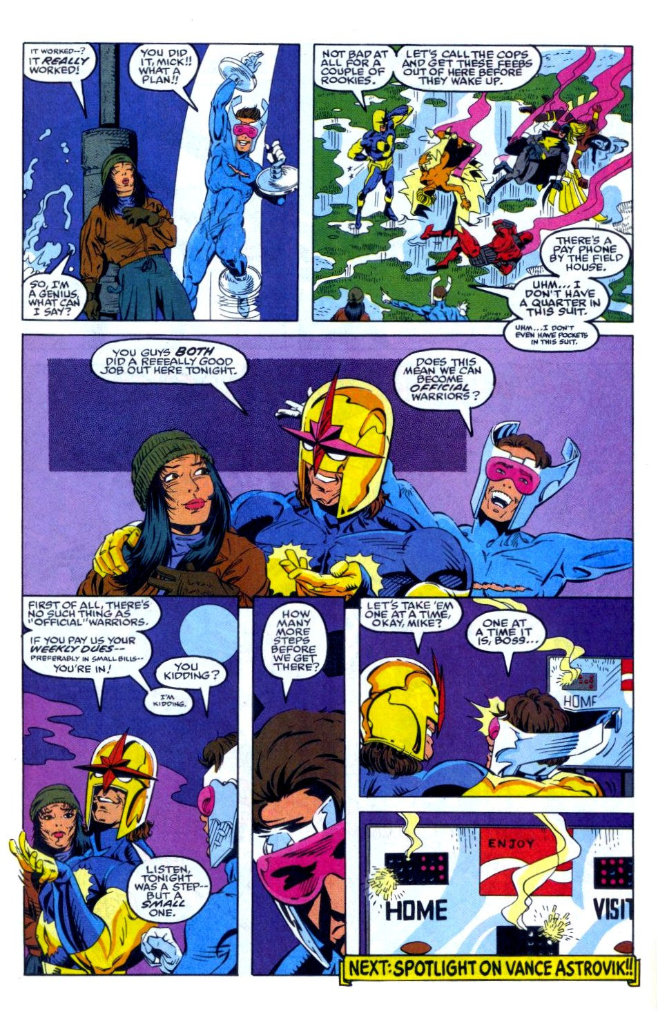 The New Warriors Issue #35 #39 - English 23