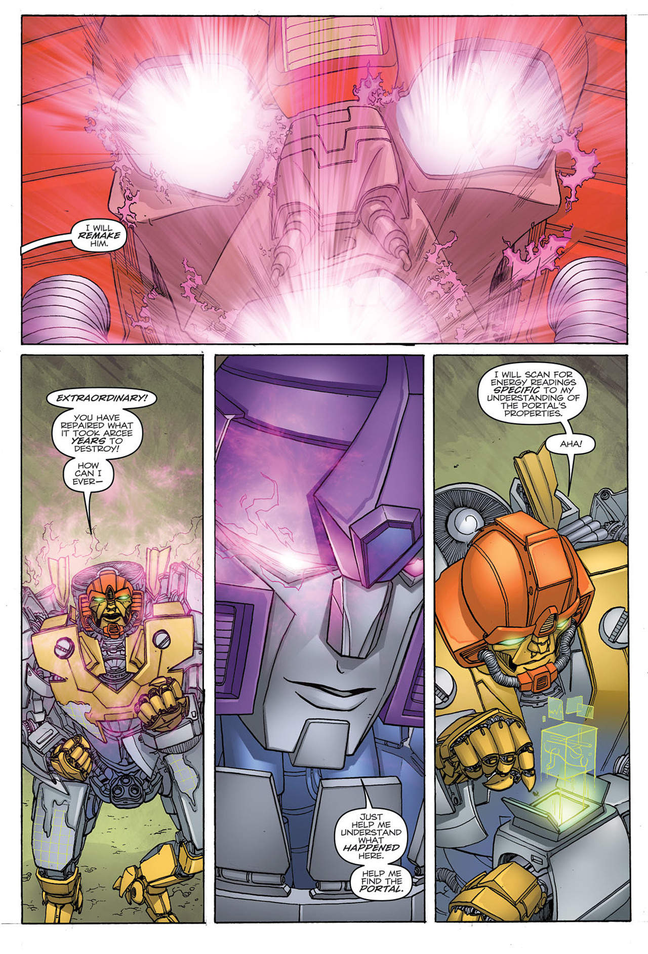 Read online Transformers: Heart of Darkness comic -  Issue #1 - 21