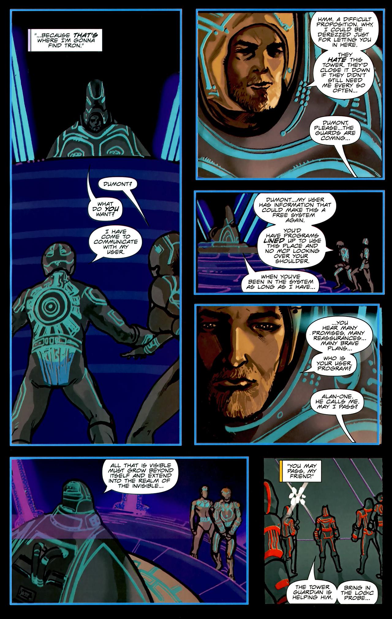 Read online TRON: Original Movie Adaptation comic -  Issue #2 - 17