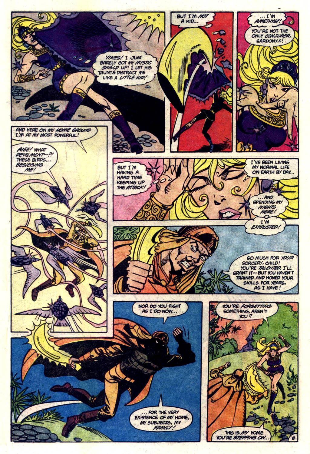 Read online Amethyst (1985) comic -  Issue #6 - 7