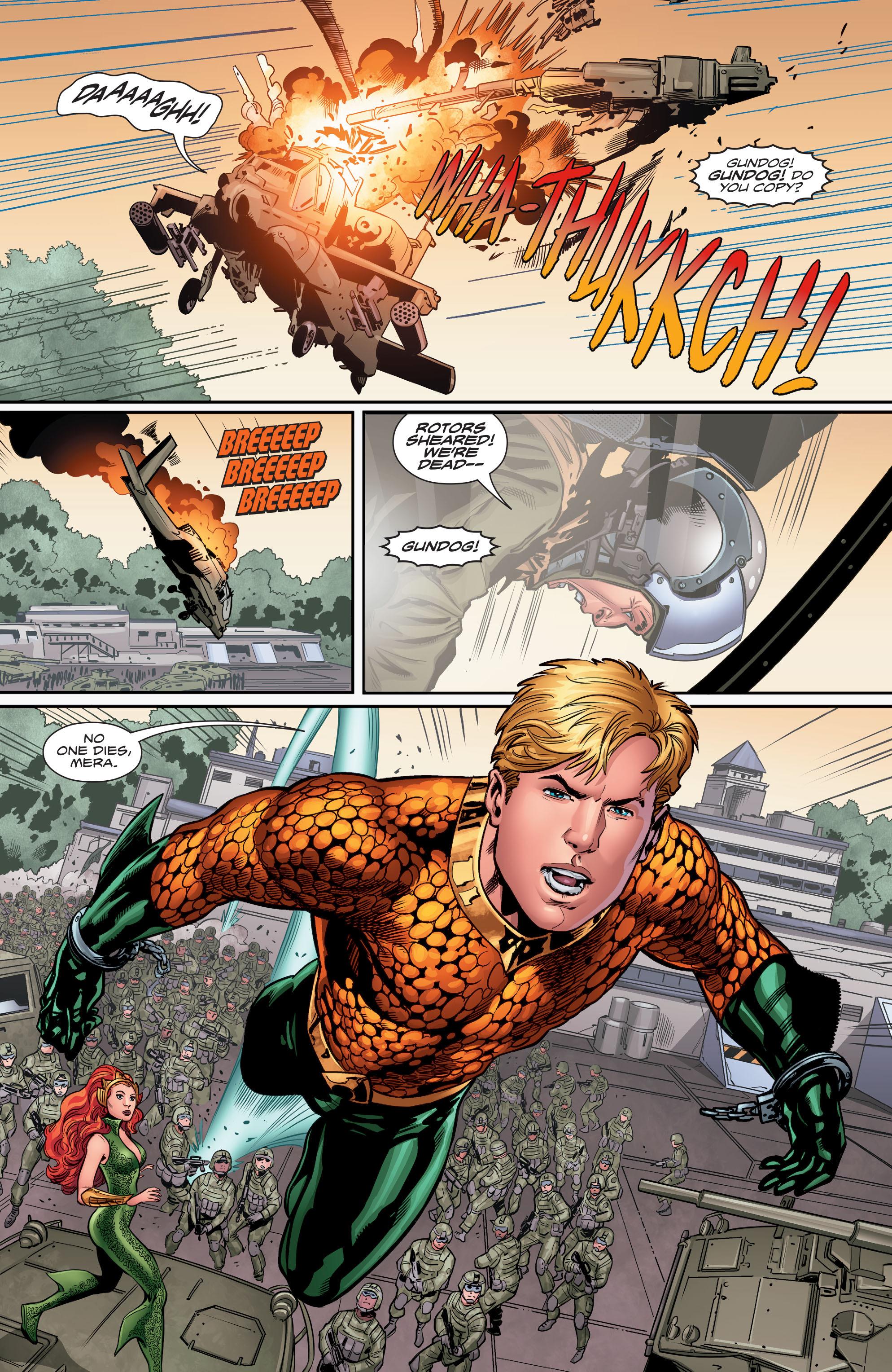 Read online Aquaman (2016) comic -  Issue #5 - 7
