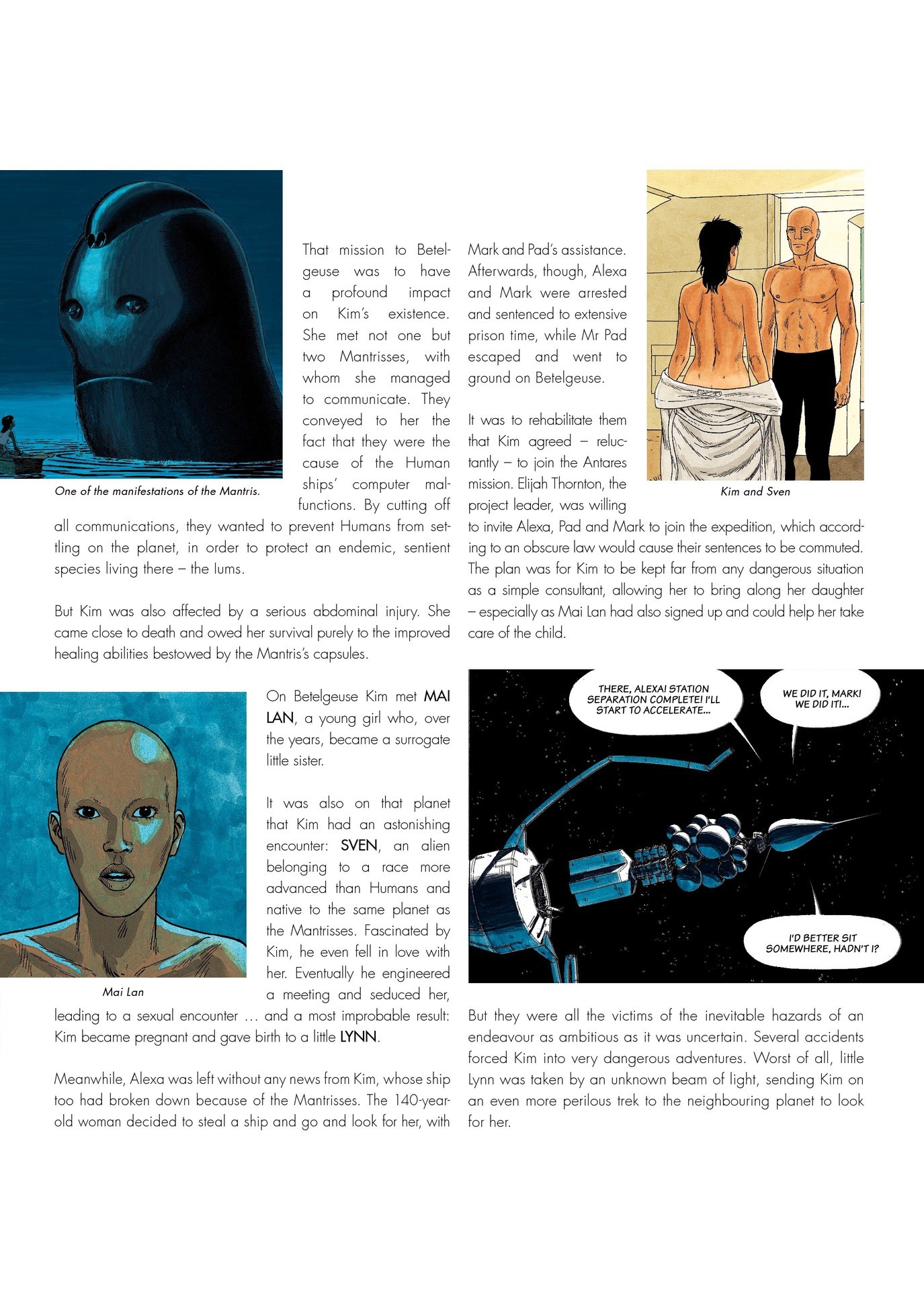 Read online Antares comic -  Issue #6 - 7