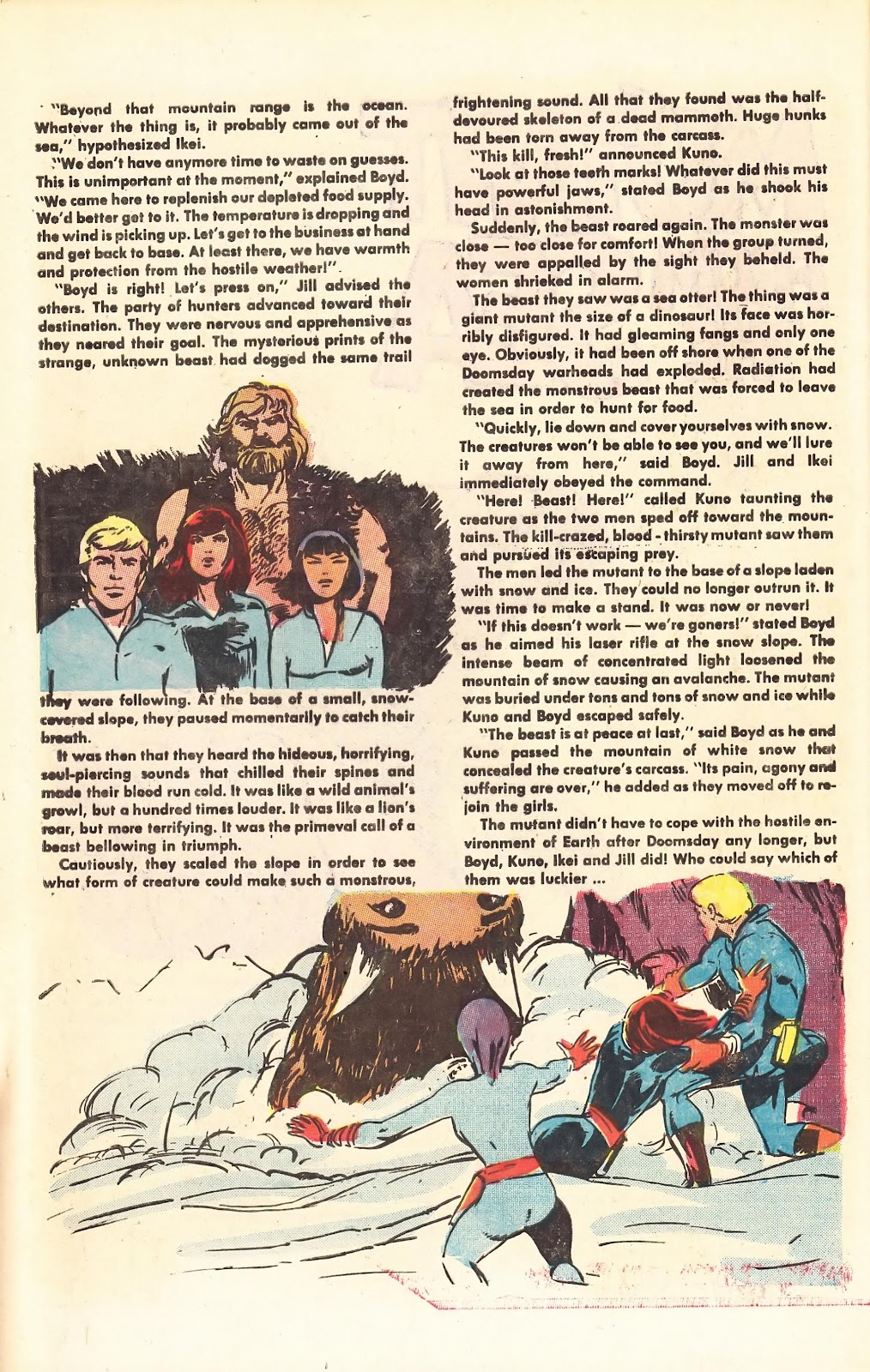 Read online Doomsday   1 (1975) comic -  Issue #4 - 31