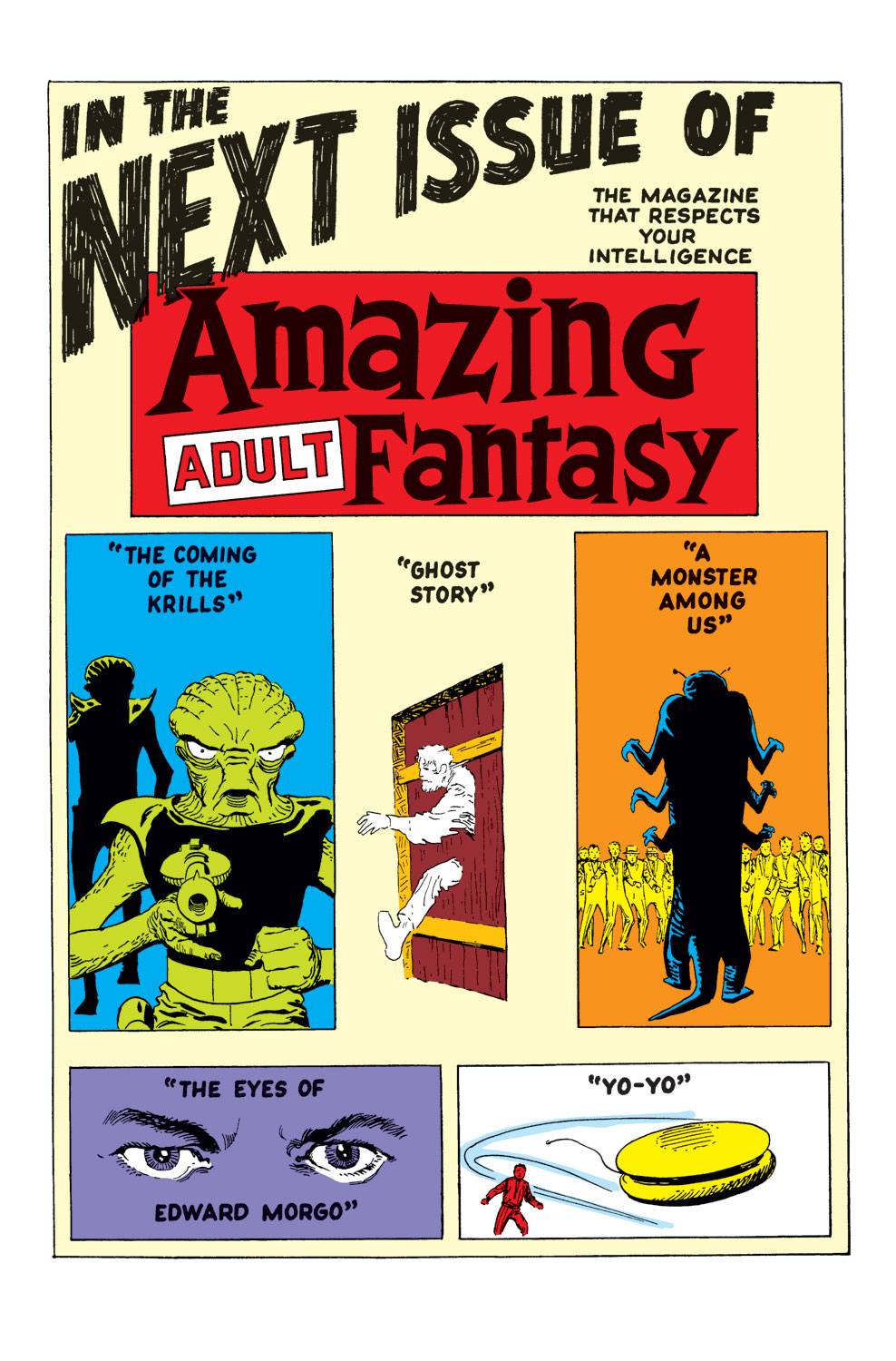 Read online Amazing Adult Fantasy comic -  Issue #7 - 21
