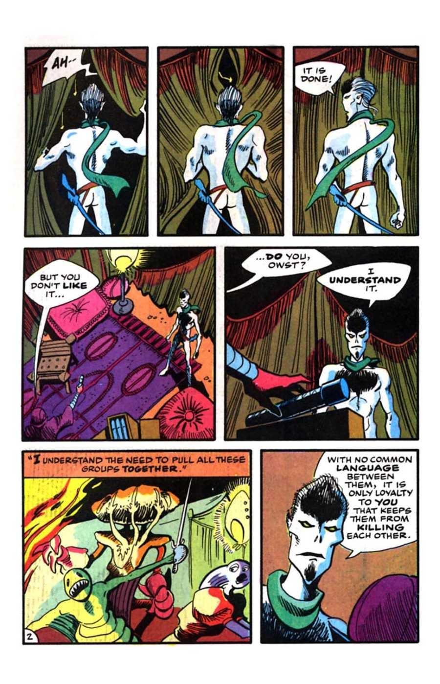 Read online Mars comic -  Issue #9 - 4